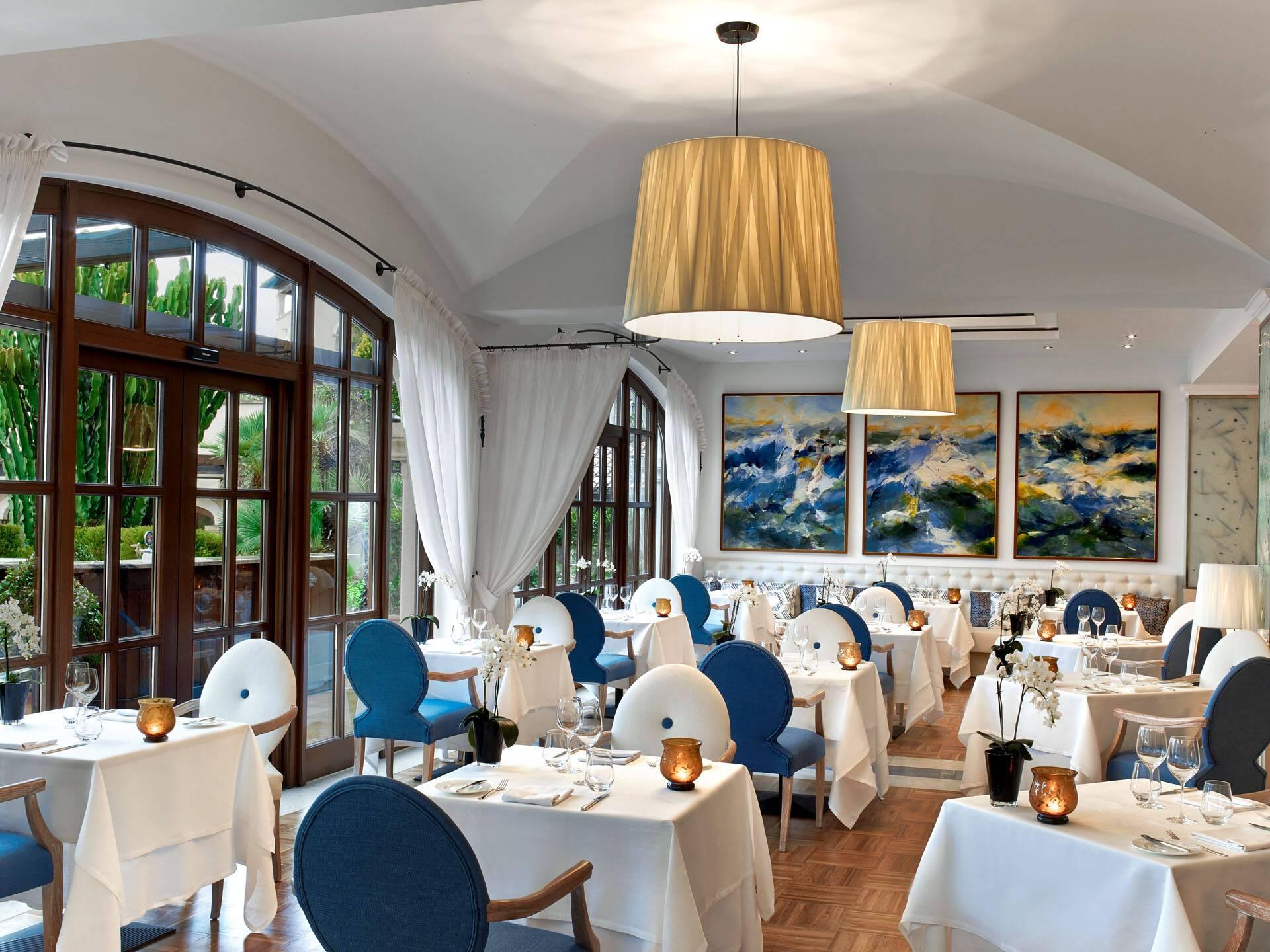 St Regis Mardavall Resort Majorque Restaurant Aqua