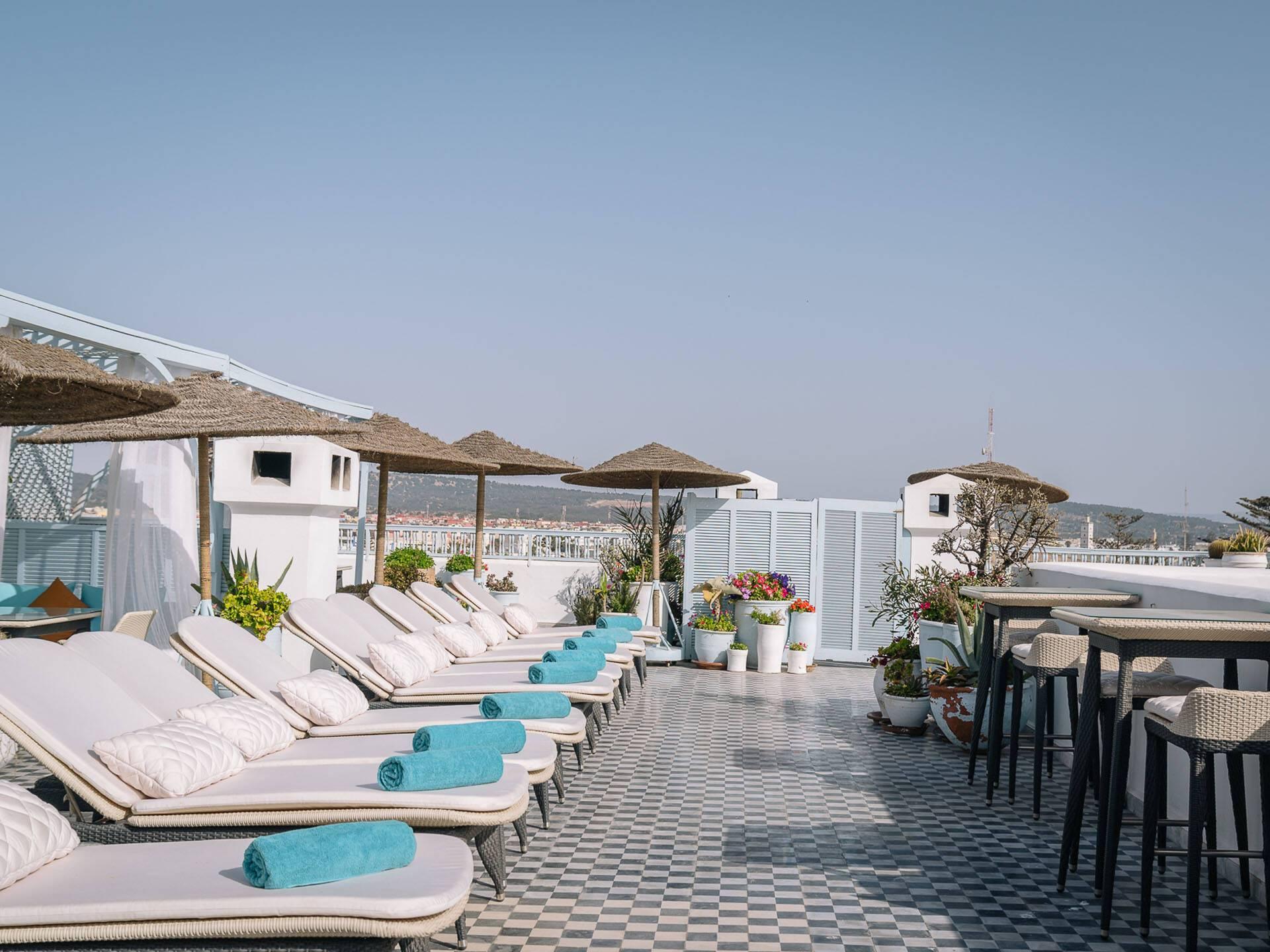 Heure Bleue Essaouira Terrasse