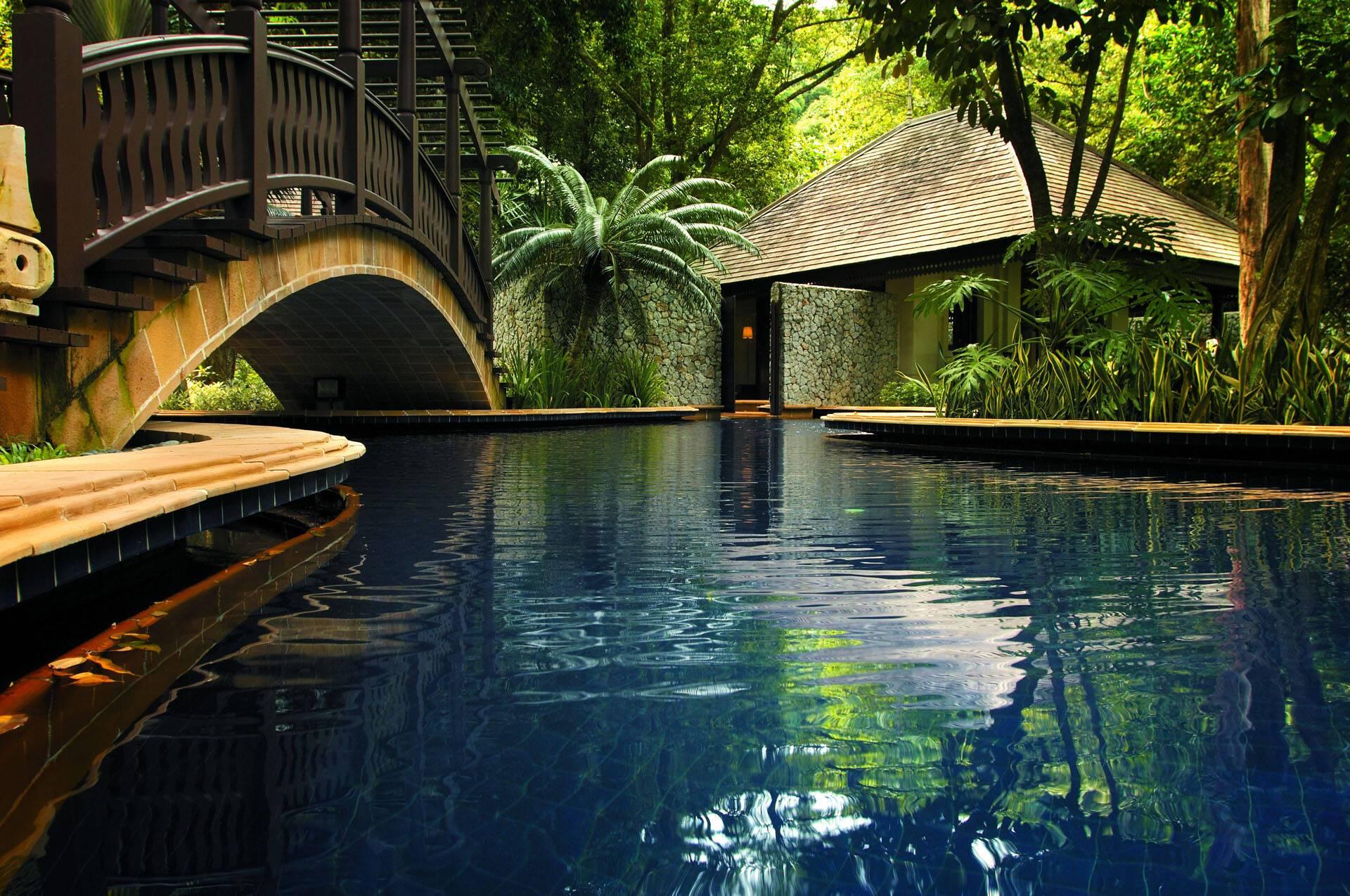 Pangkor Laut Resort Malaisie Estate Two Pool