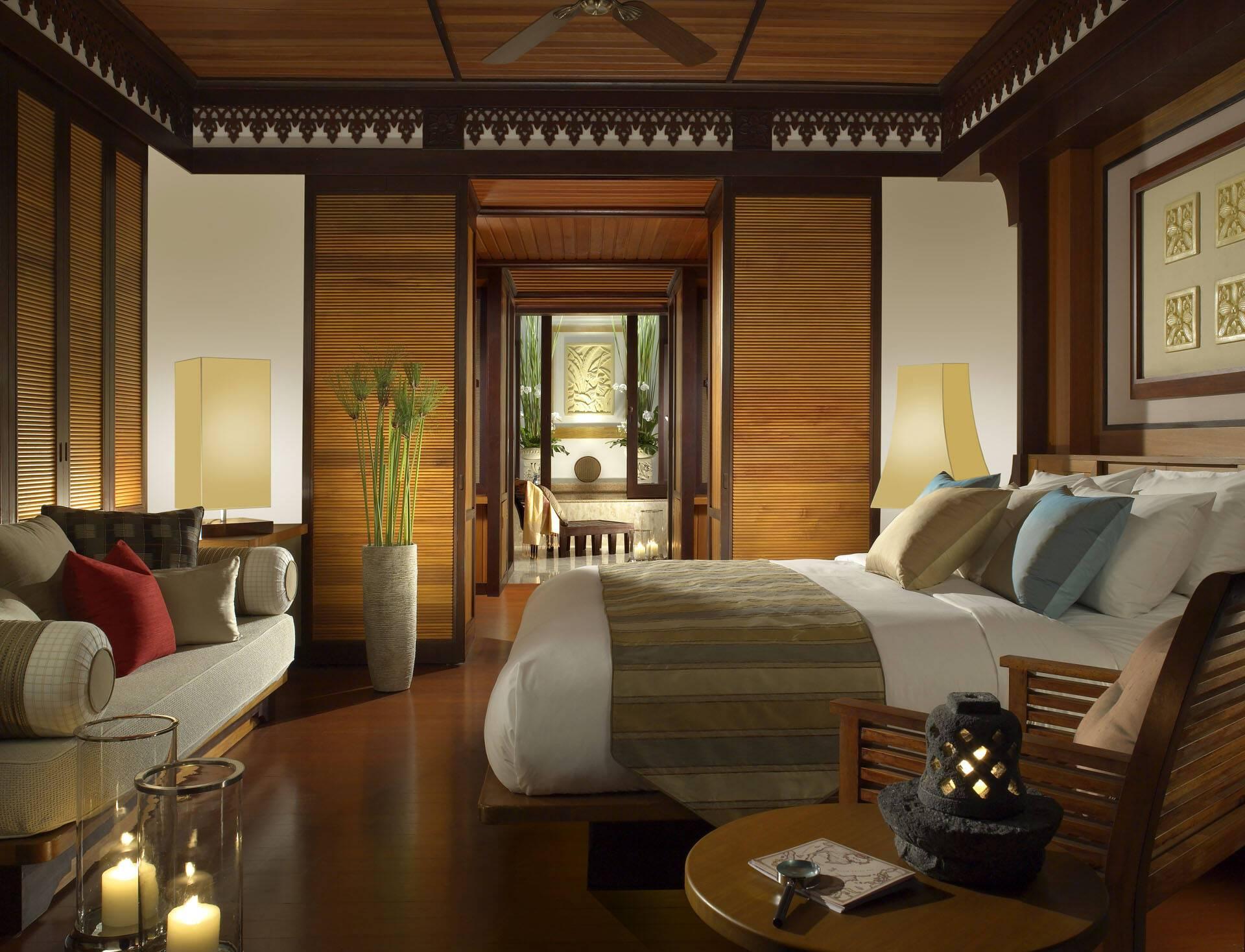 Pangkor Laut Resort Malaisie Hill Villa Interieur