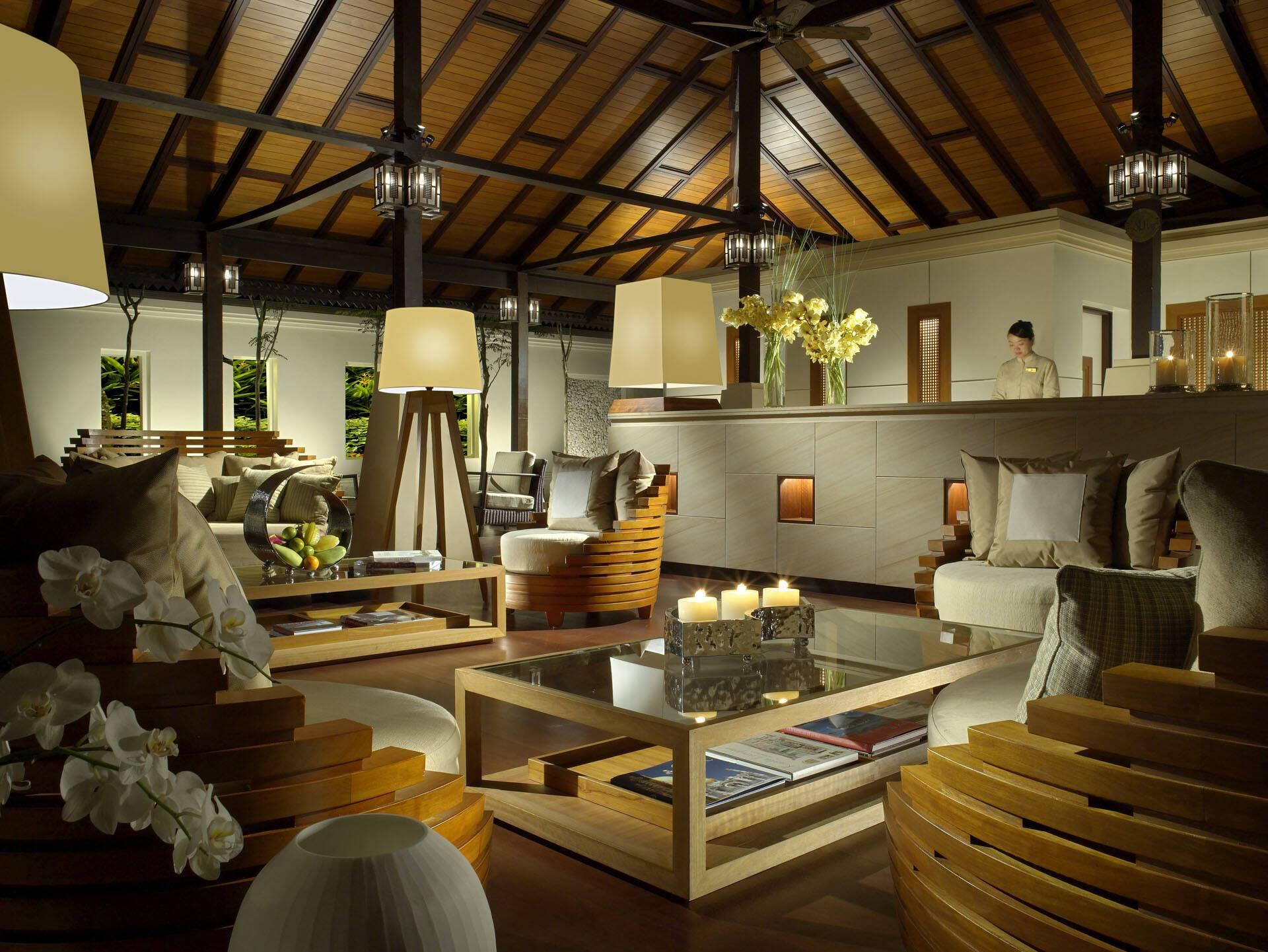Pangkor Laut Resort Malaisie Reception