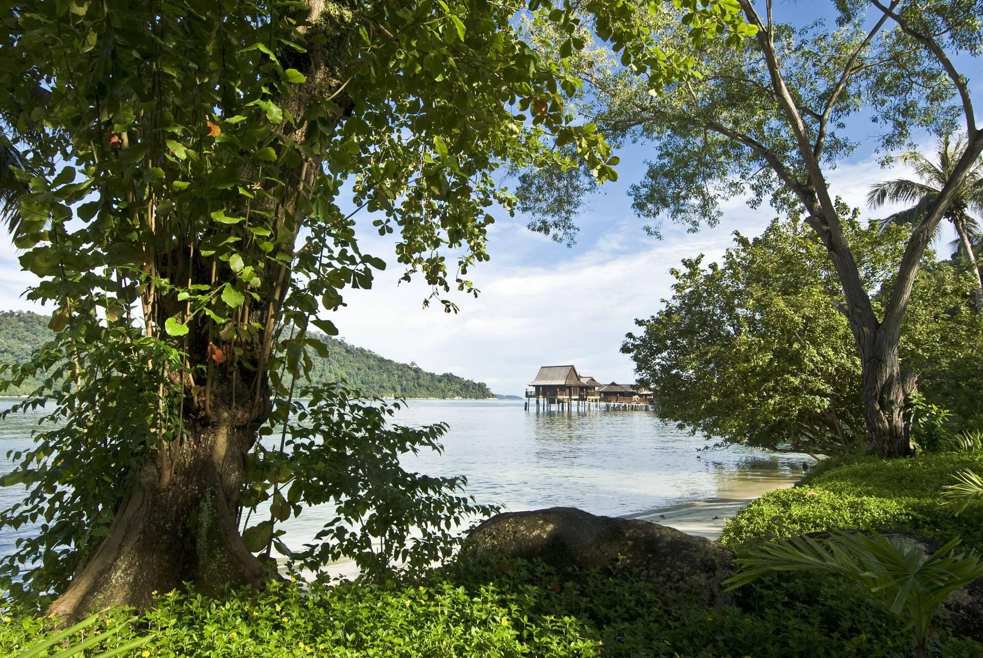 Pangkor Laut Resort Malaisie Sea Villa Exterior