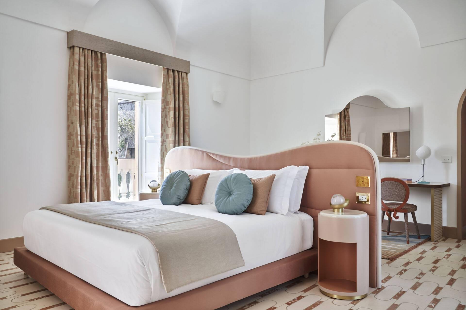 Palazzo Avino Ravello Belvedere Suite Coral Deluxe Suite