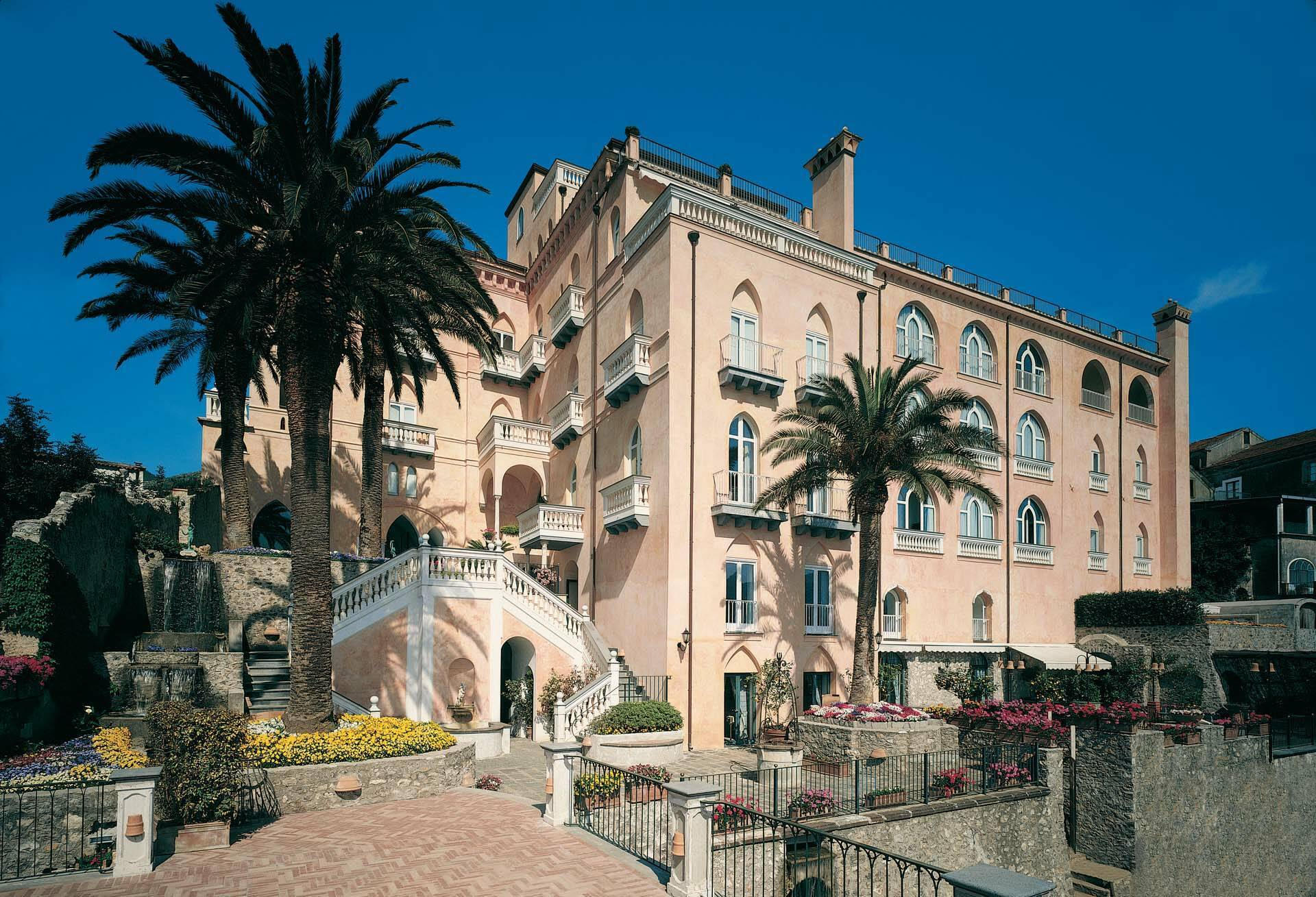 Palazzo Avino Ravello Italie Facade