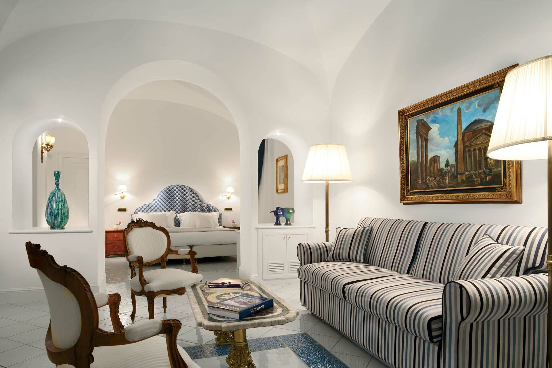 Palazzo Avino Ravello Italie Junior Suite