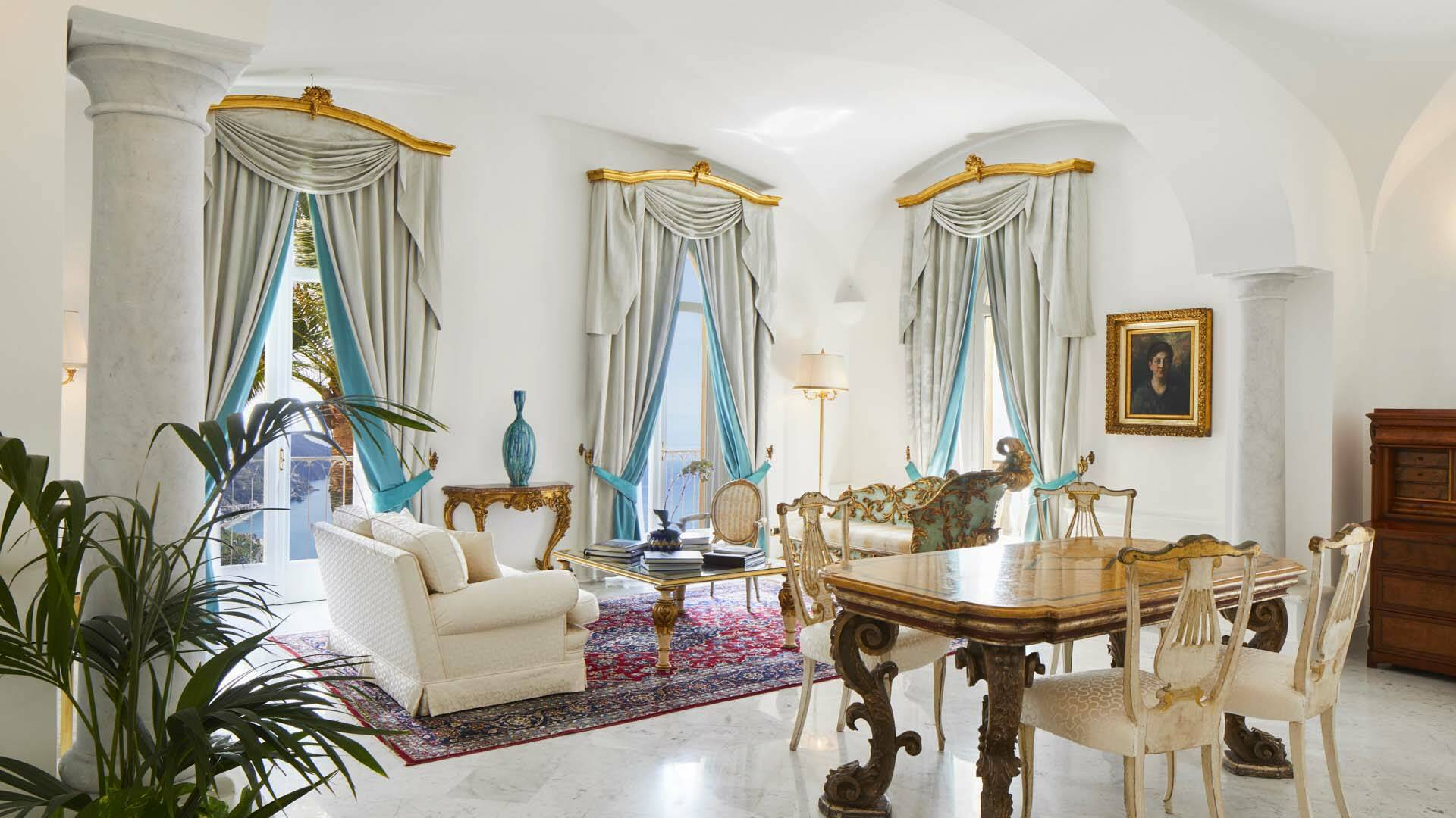Palazzo Avino Ravello Italie Orizzonte suite