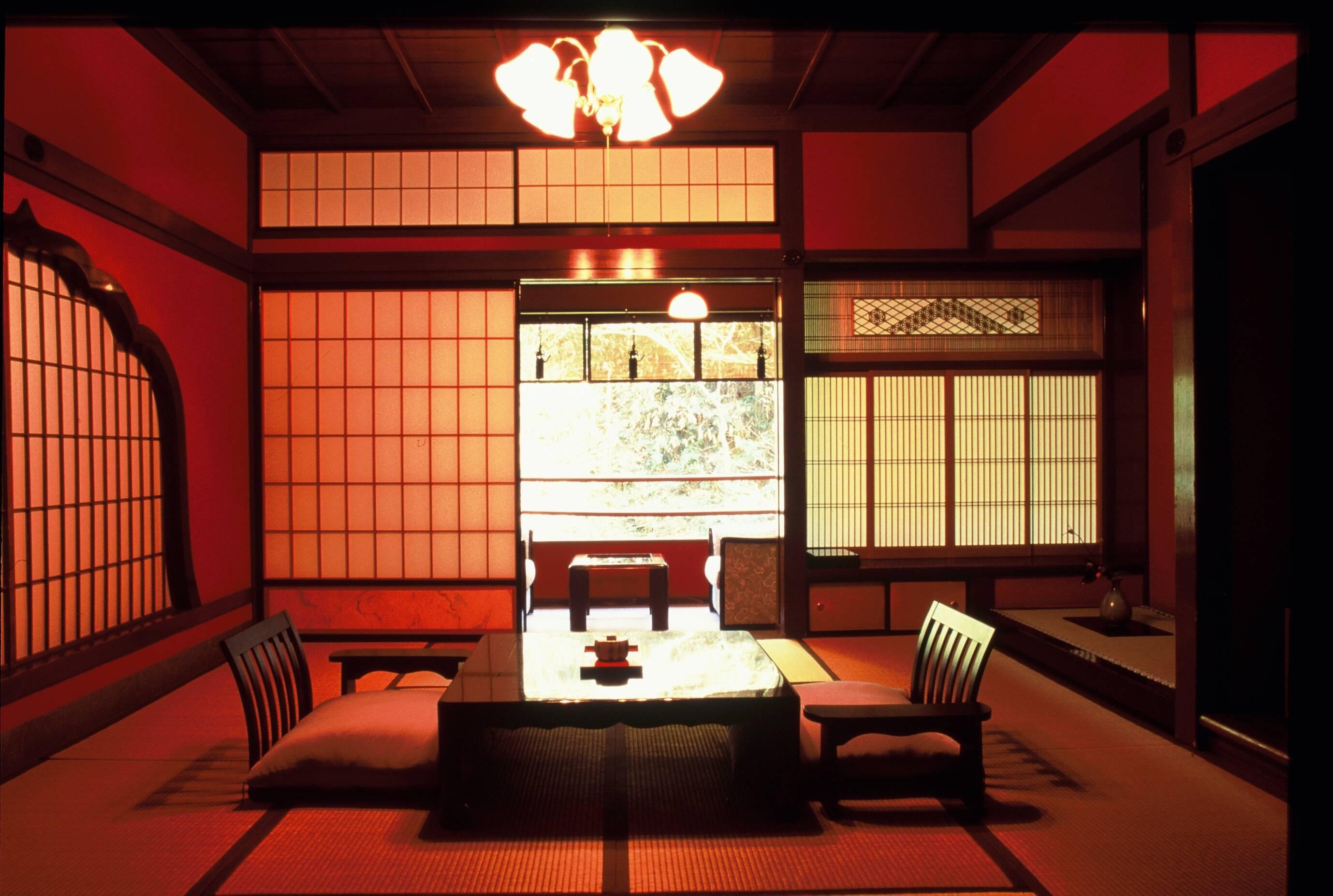 Kaga Araya Tototan Ryokan Salon Circuit Japon