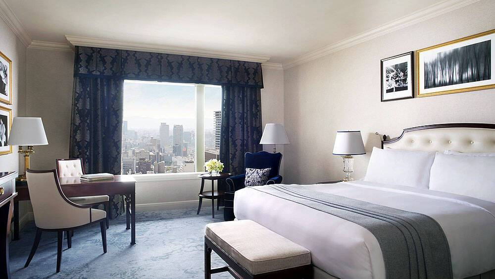 Ritz Carlton Chambre Deluxe Osaka Japon