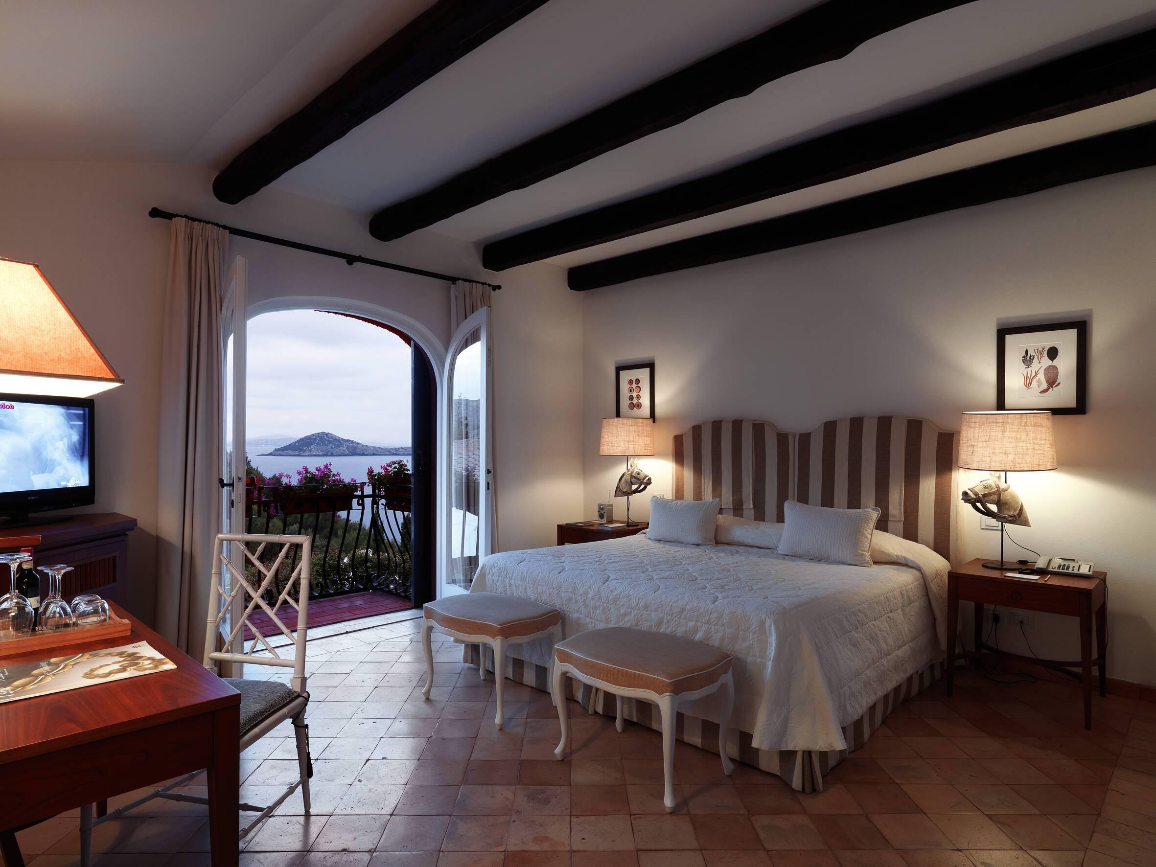 Il Pellicano Double Sea View Room Chambre Toscane