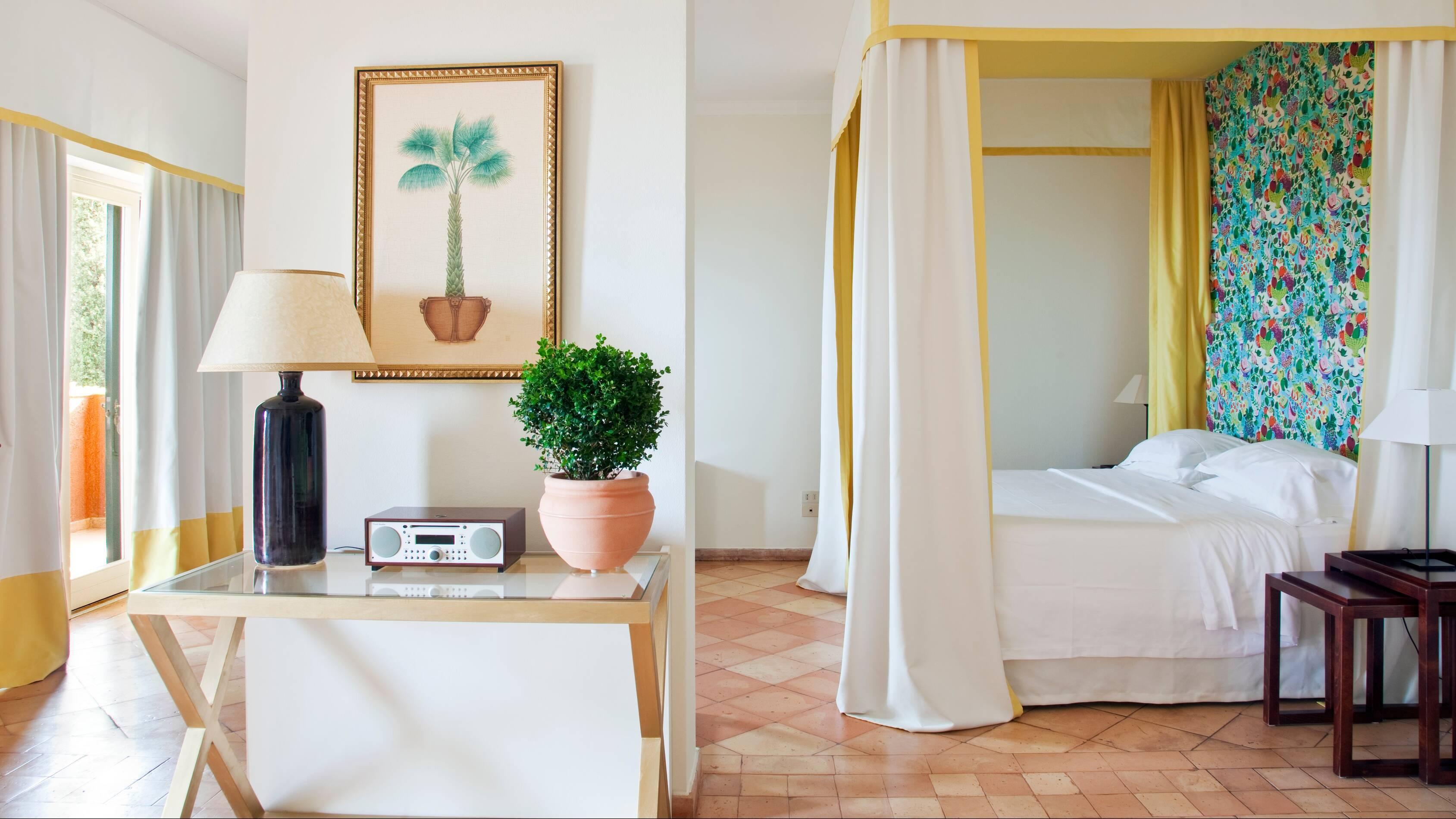 Il Pellicano Master Deluxe Suite Sea View Toscane Chambre