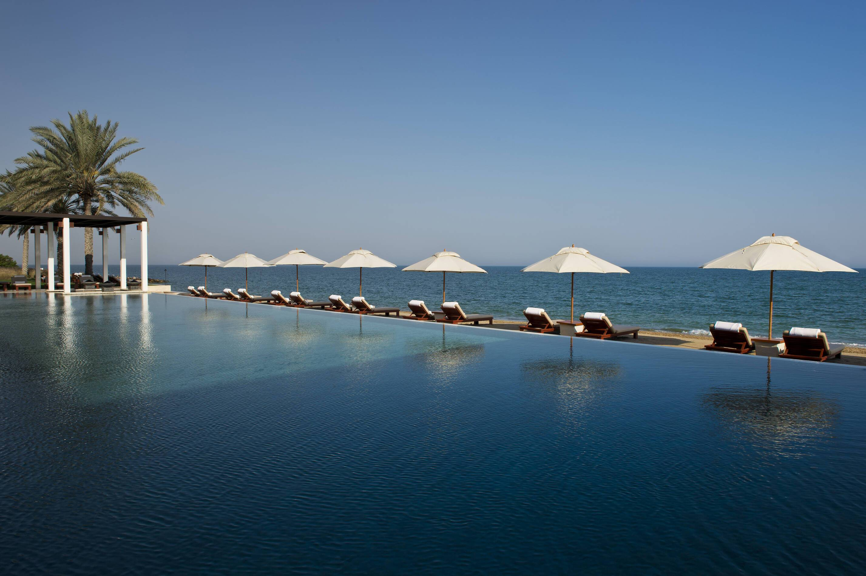Chedi Muscat Oman piscine