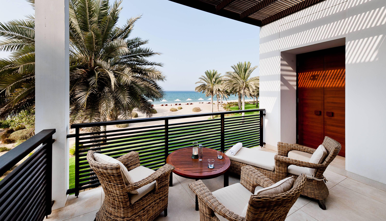 Chedi Muscat Oman suite terrasse vue ocean