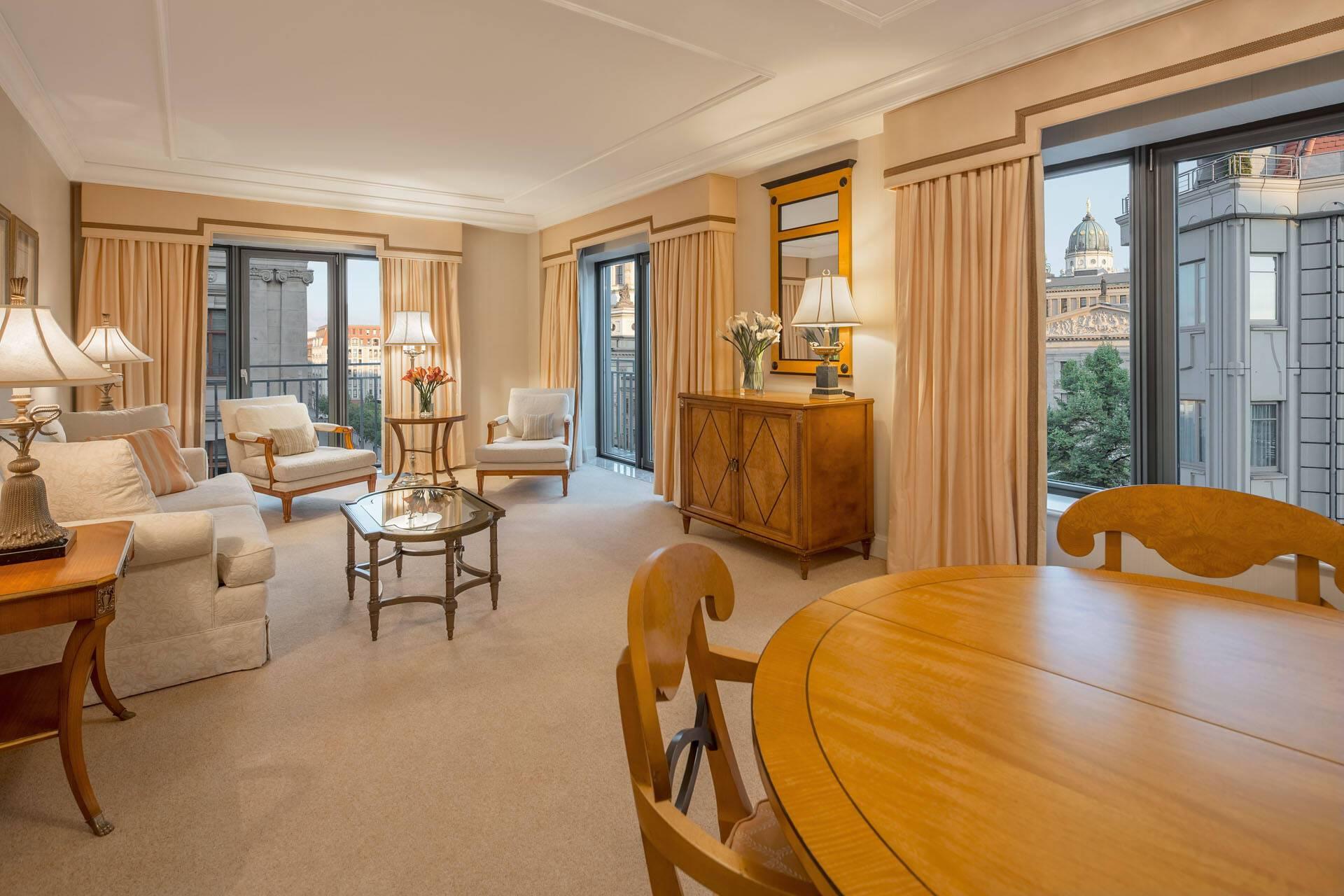 Regent Berlin Deluxe Suite living room