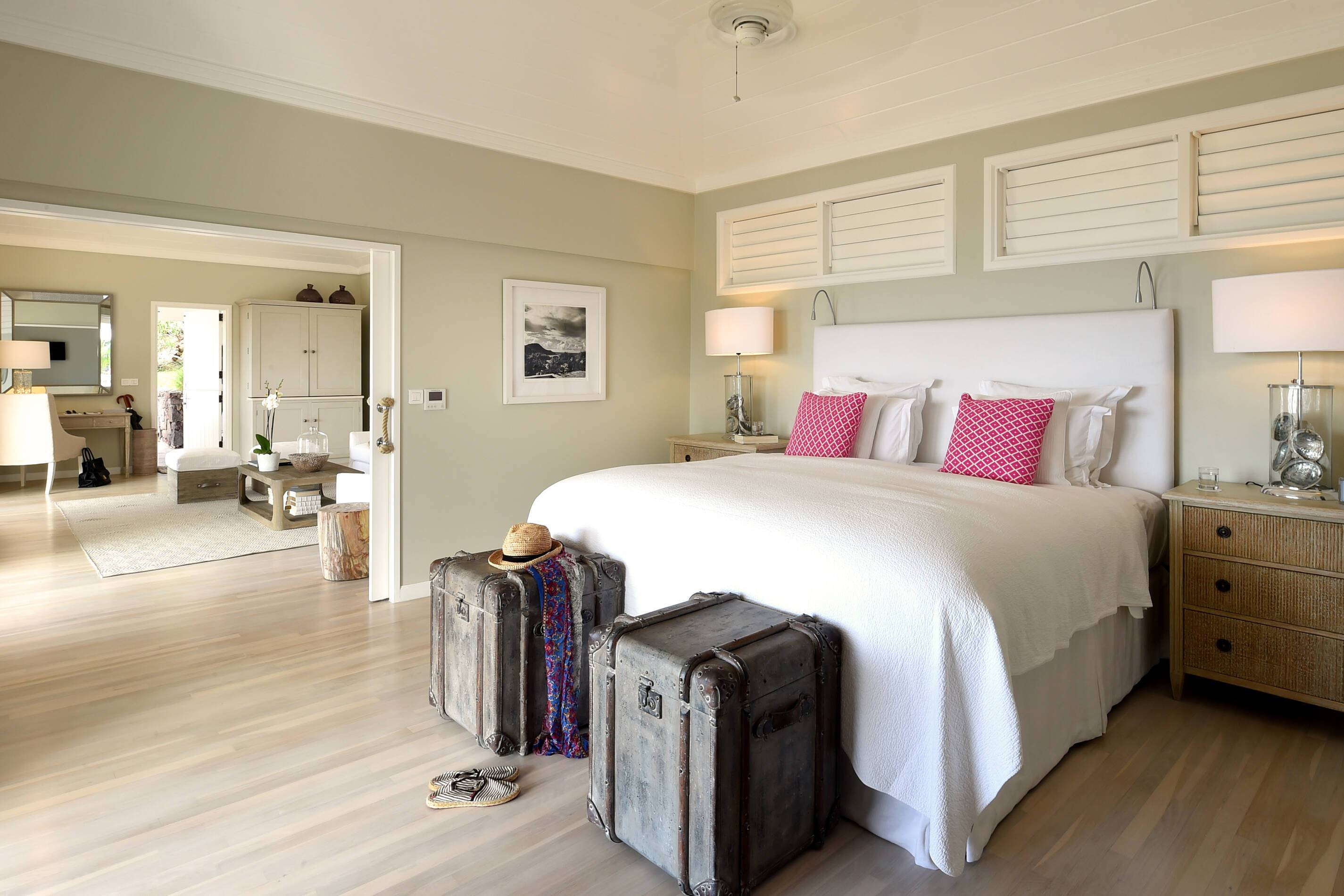 Le Toiny Saint Barthelemy chambre