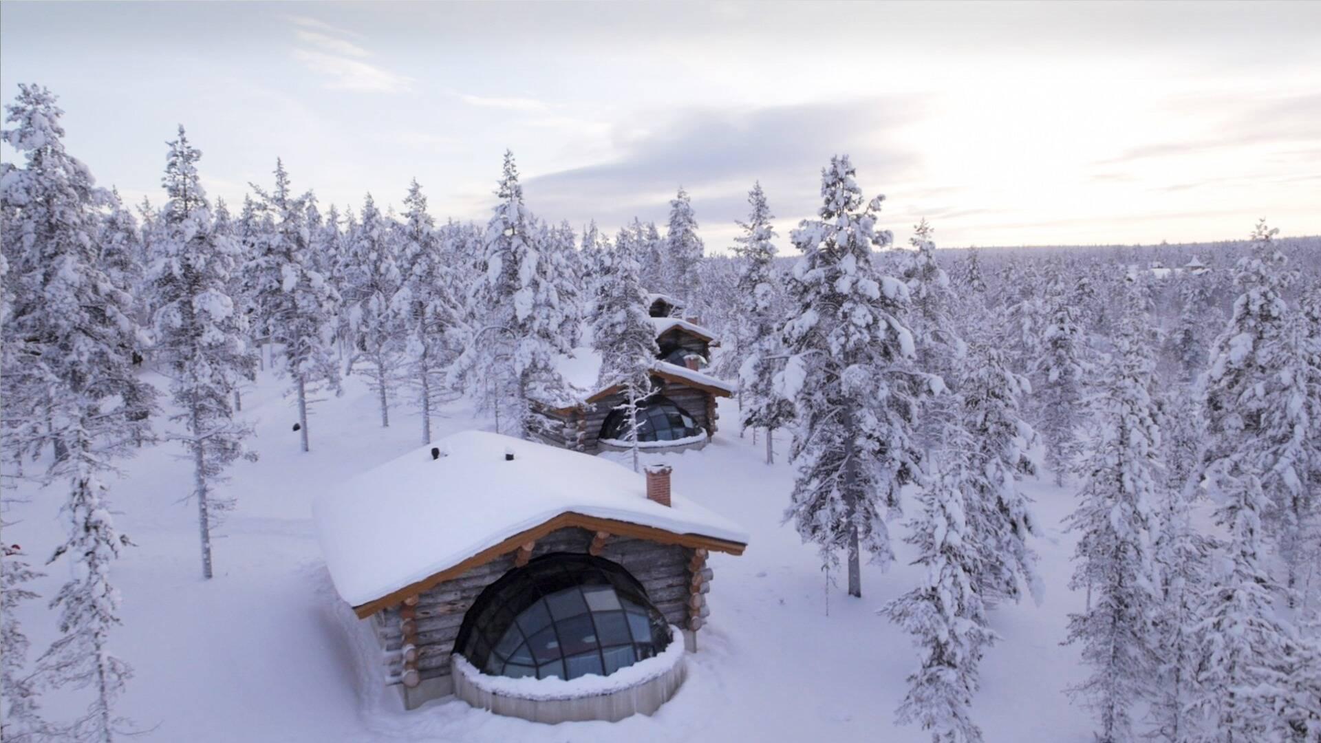 Kakslauttanen Kelo Glass Igloo Laponie