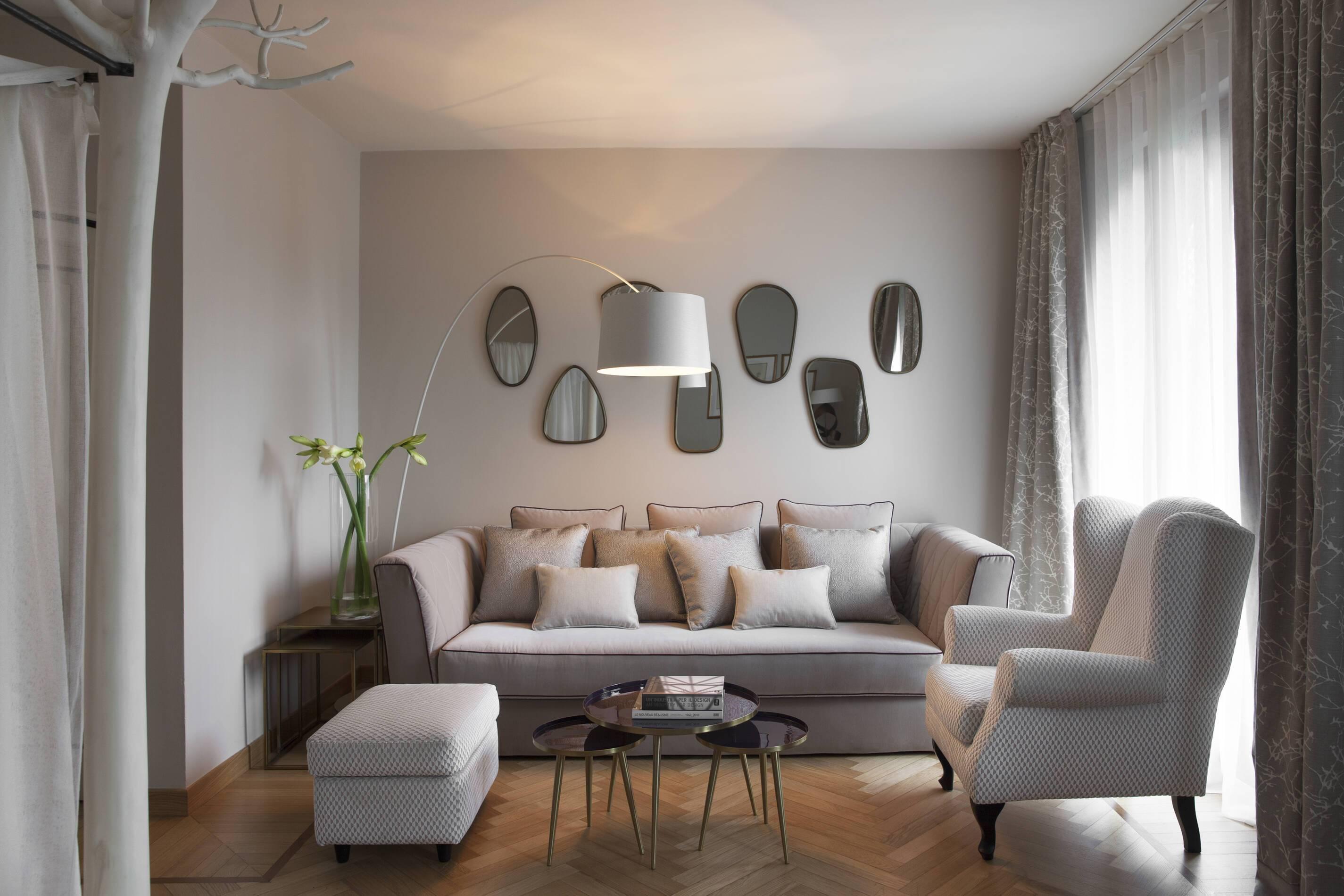 Albereta Italie casa del bosco junior suite living