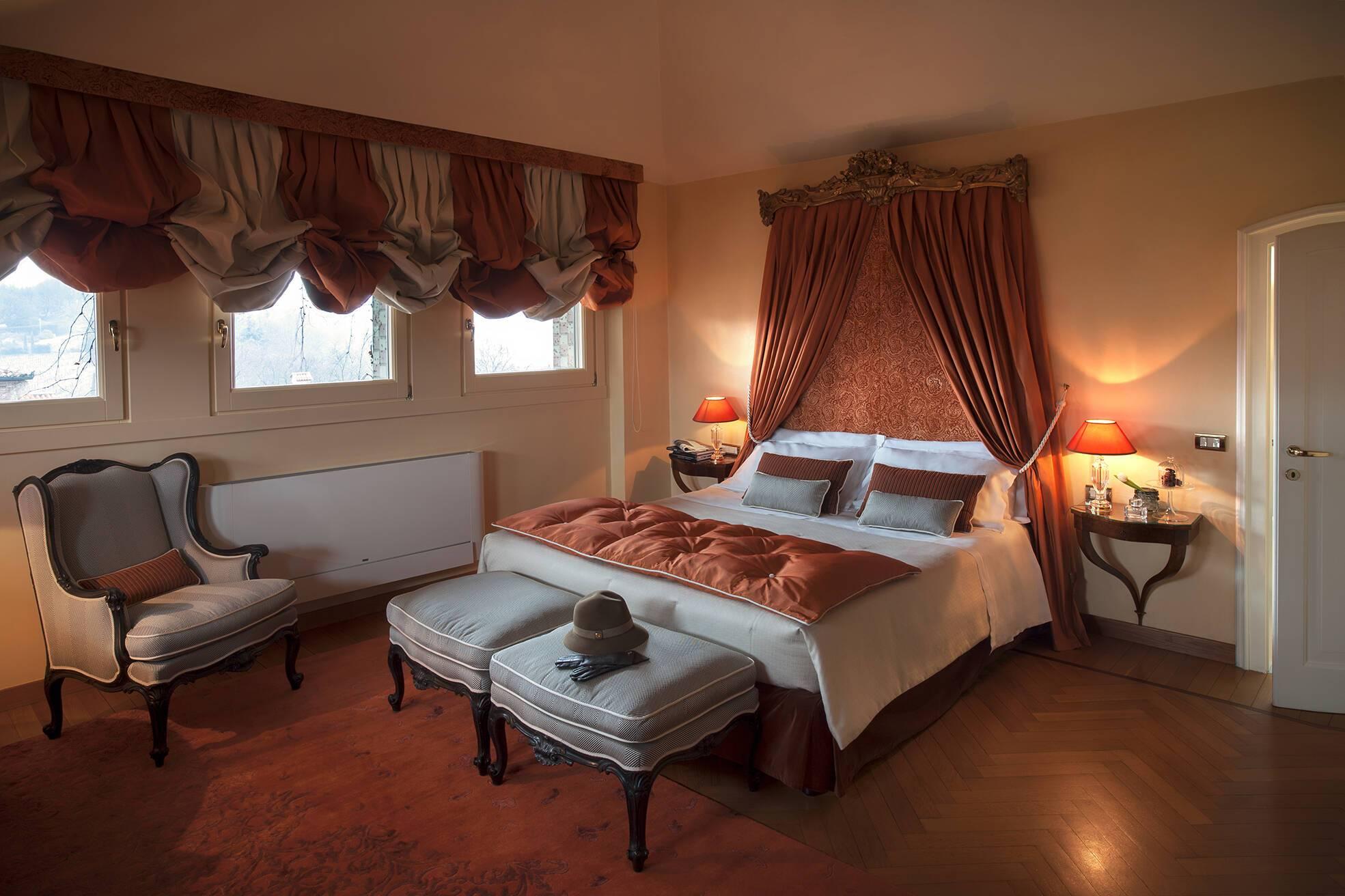 Albereta Italie suite bellavista chambre