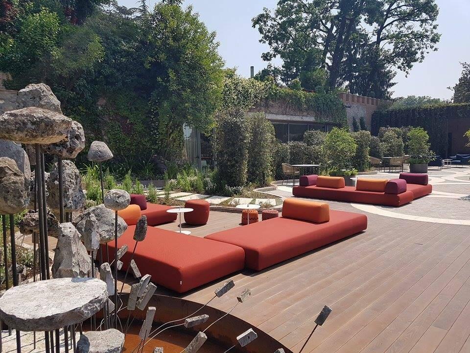 Albereta Italie terrasse