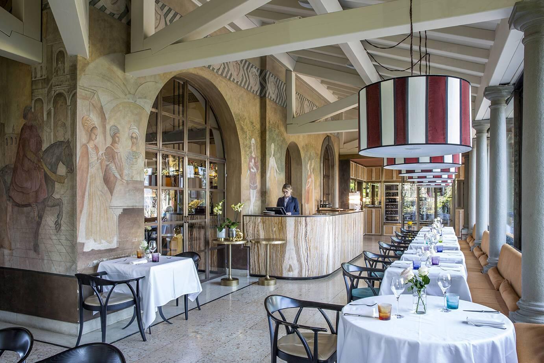Albereta Lombardie Italie Restaurant Leonefelice Vista Lago