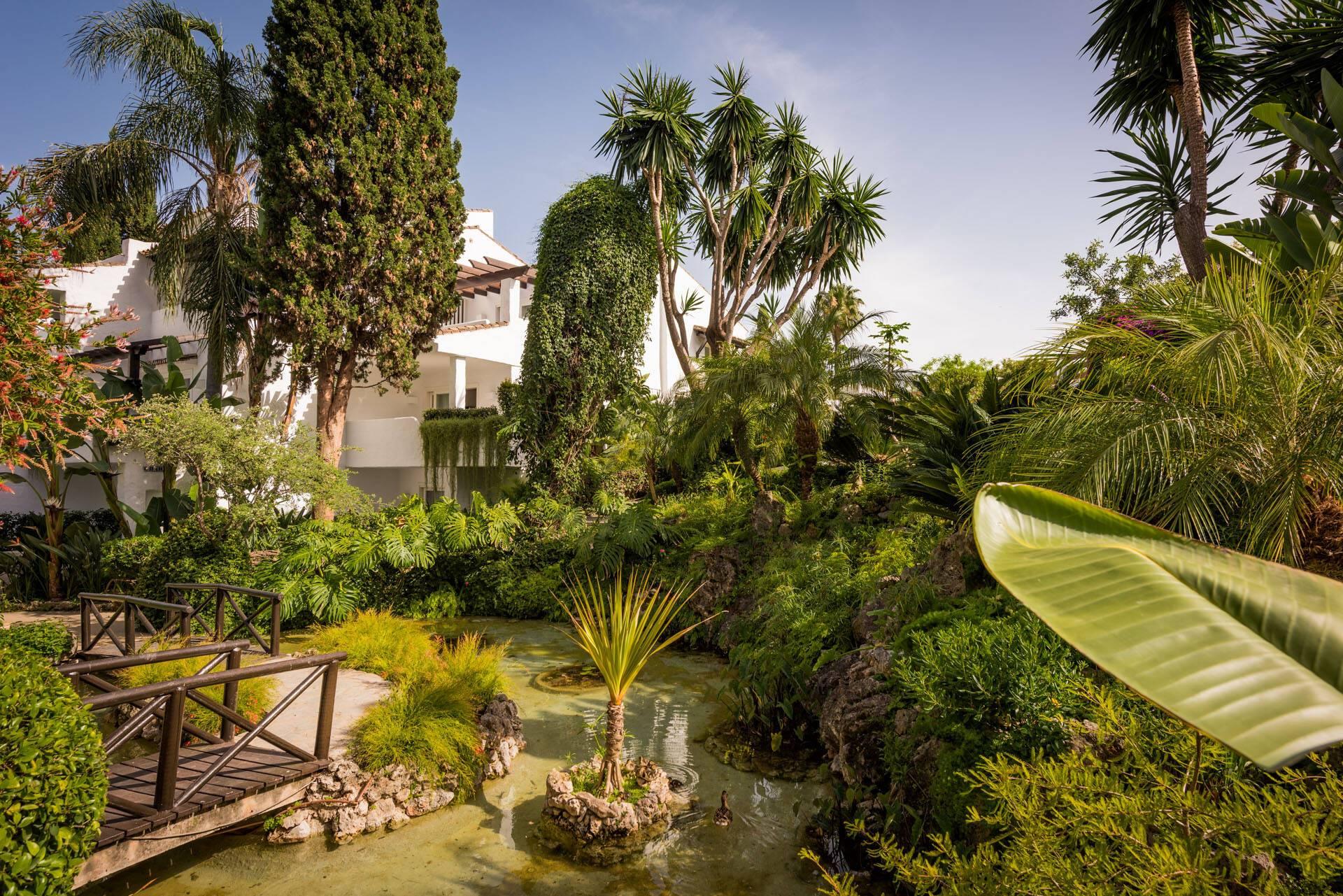 Puente Romano Marbella Andalousie Jardins