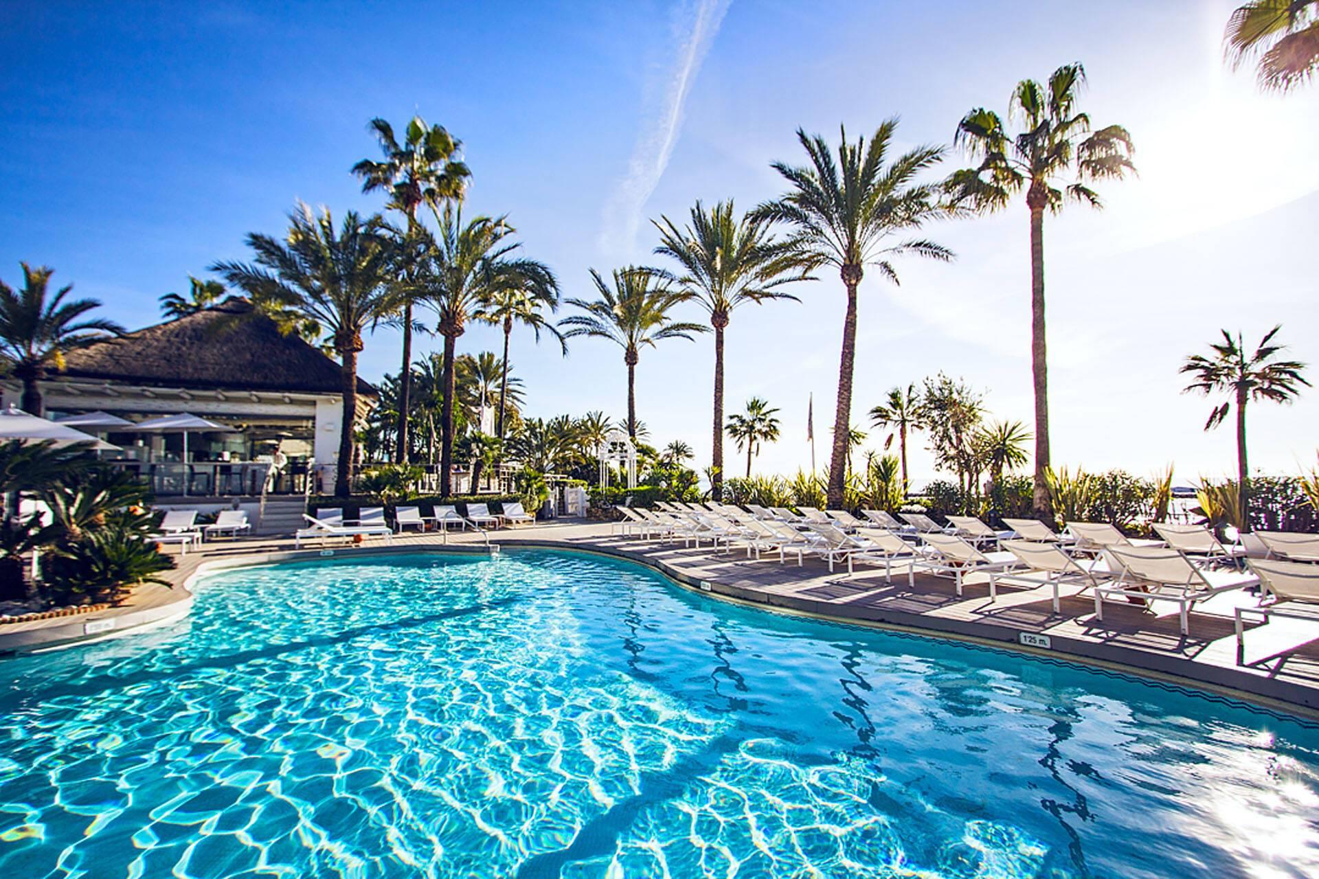 Puente Romano Marbella Andalousie Sea Grill Pool