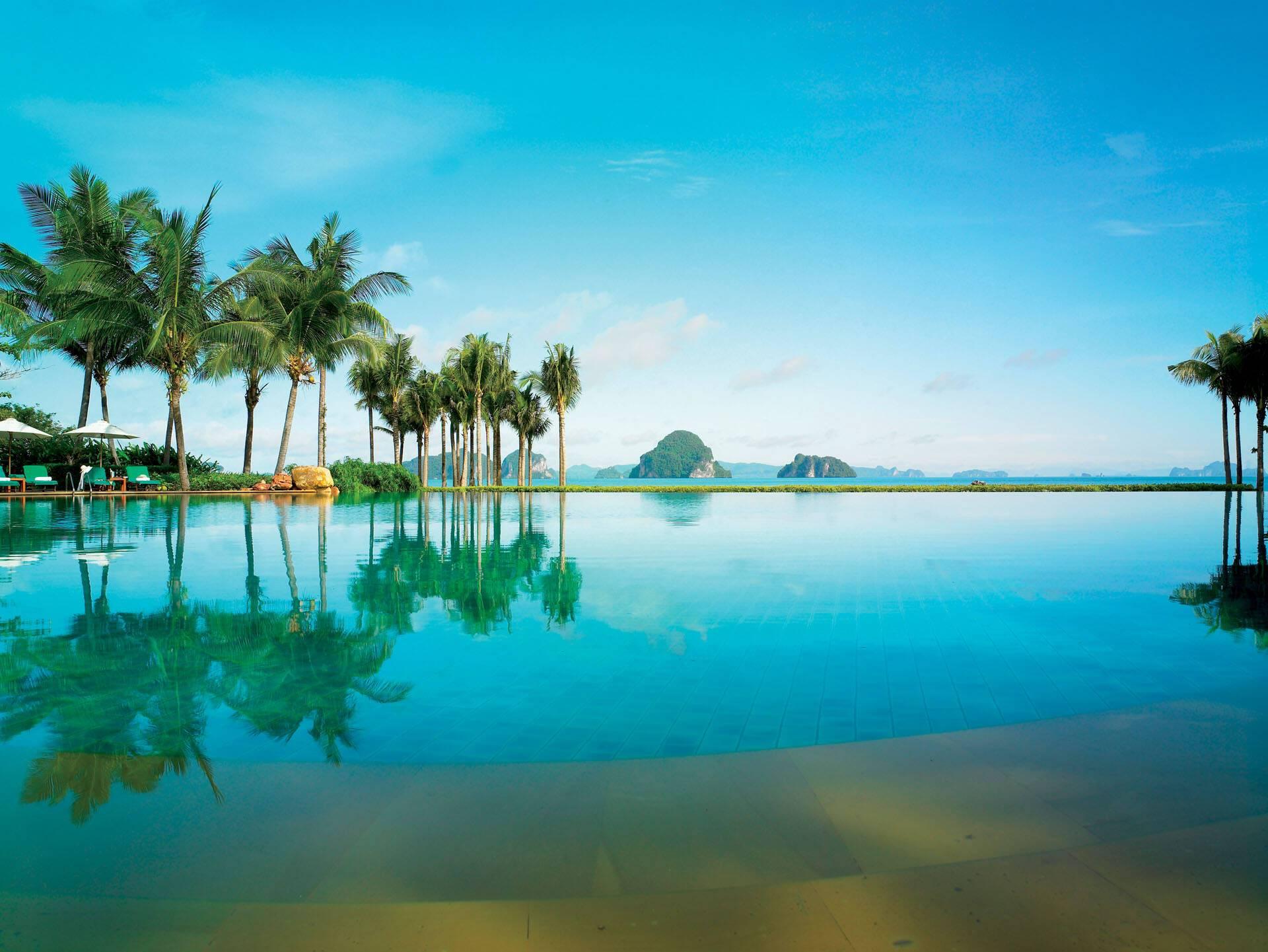 Phulay Bay Piscine Thailande