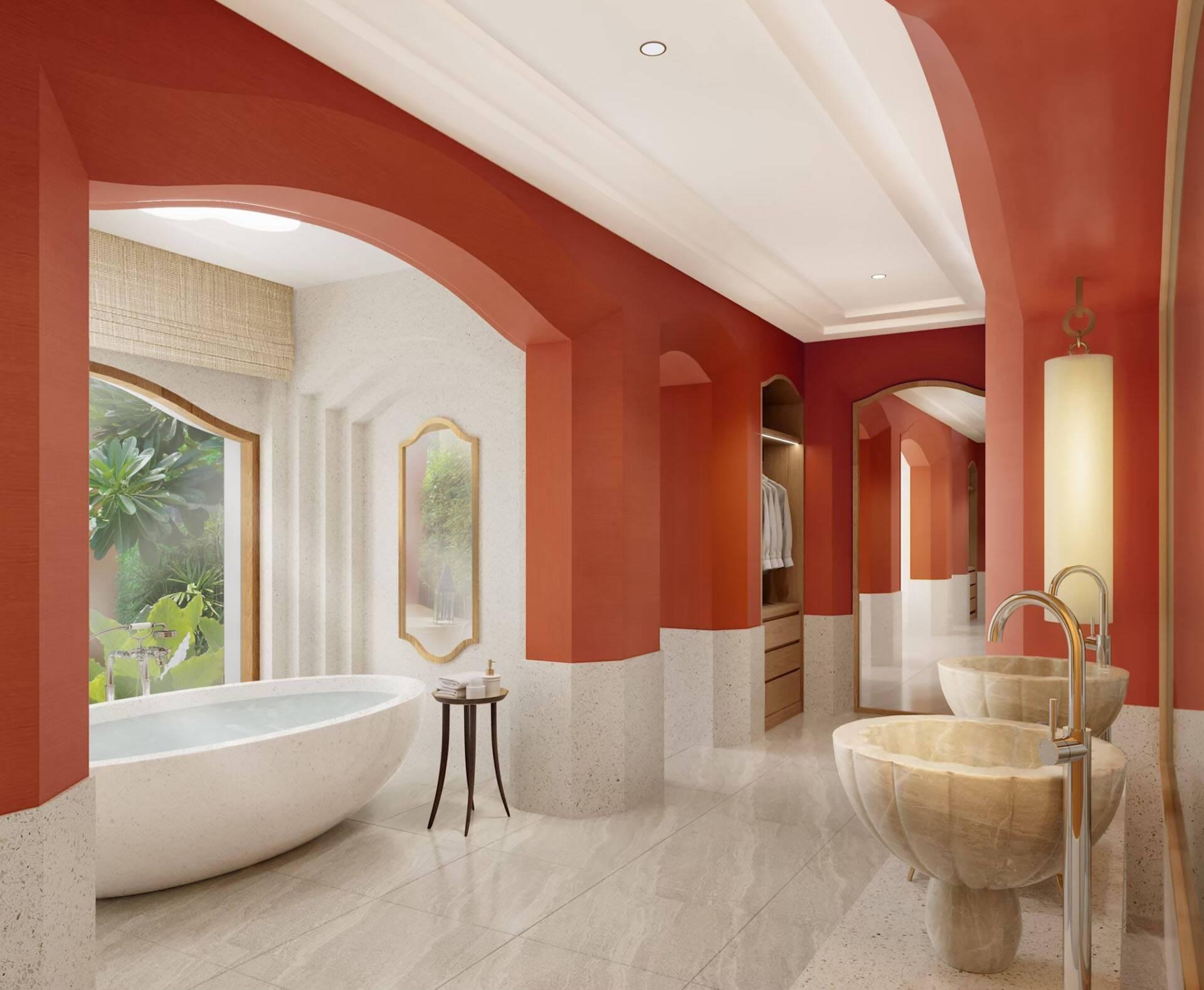 Phulay Bay Thailande Beach Villa Bathroom