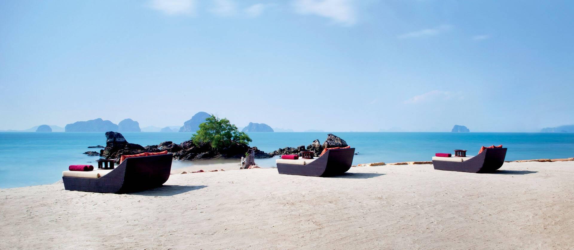 Phulay Bay Thailande Chomtawan Beach