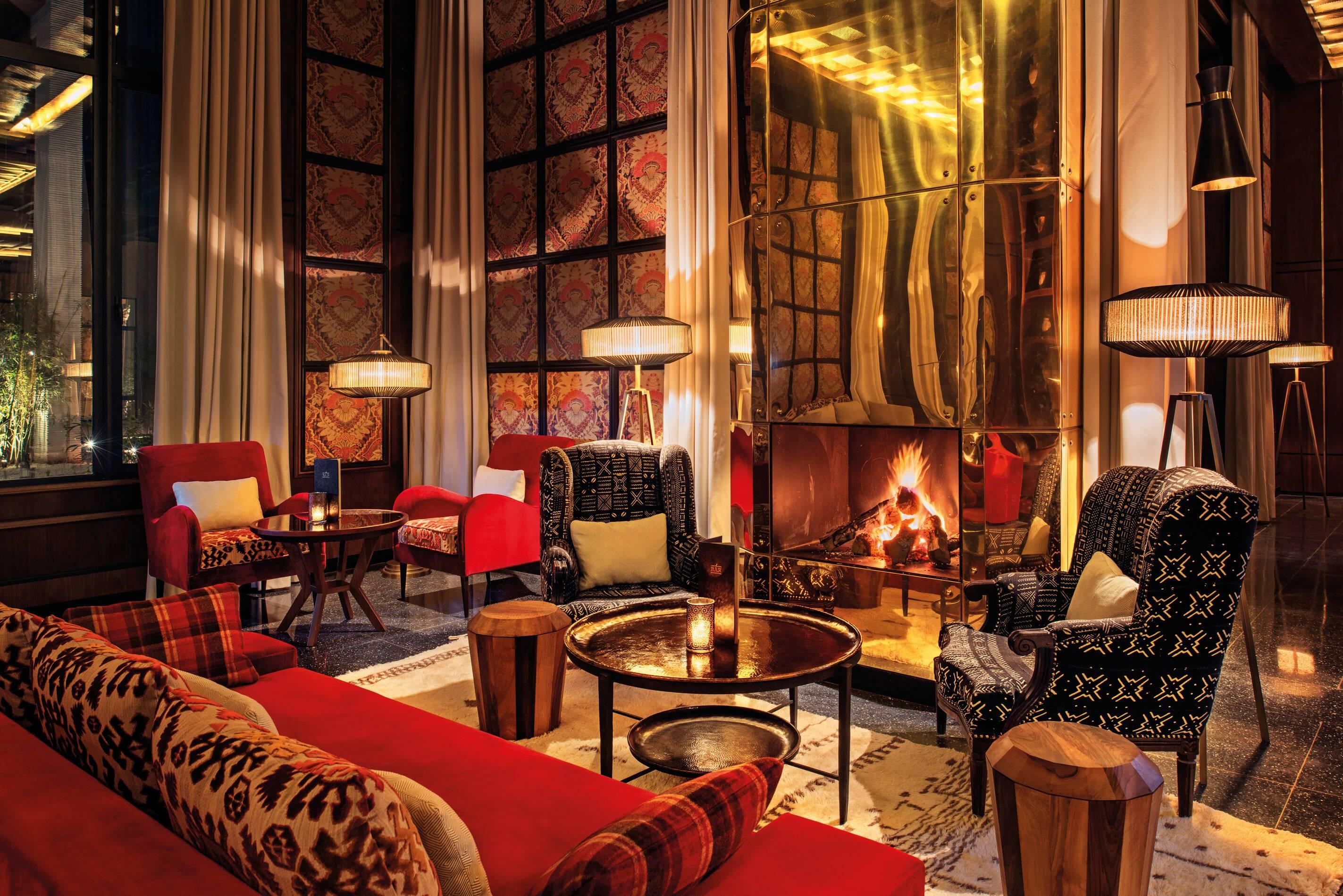 Fairmont Royal Palm Bar Marrakech