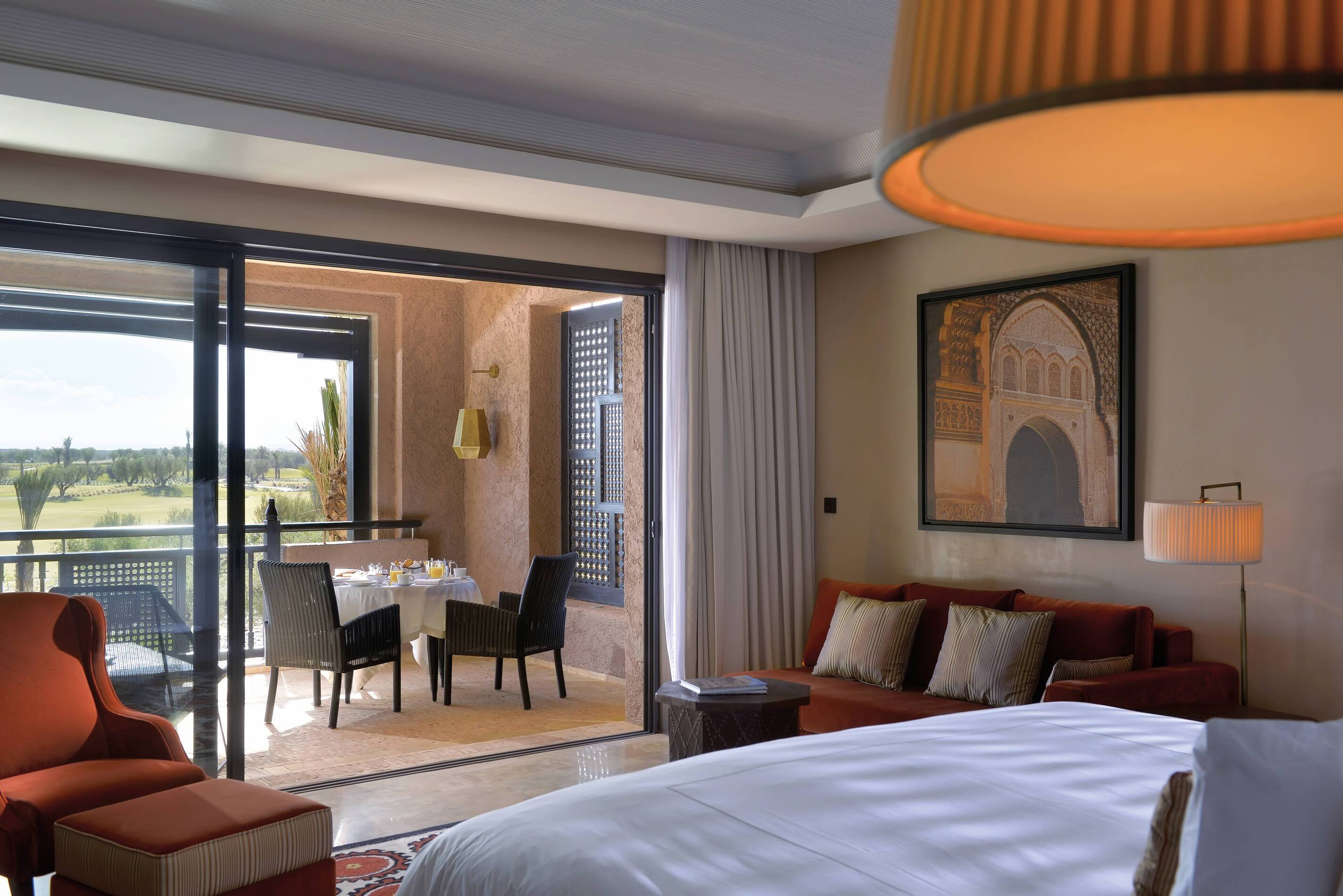 Fairmont Royal Palm Deluxe Room Terrasse Marrakech