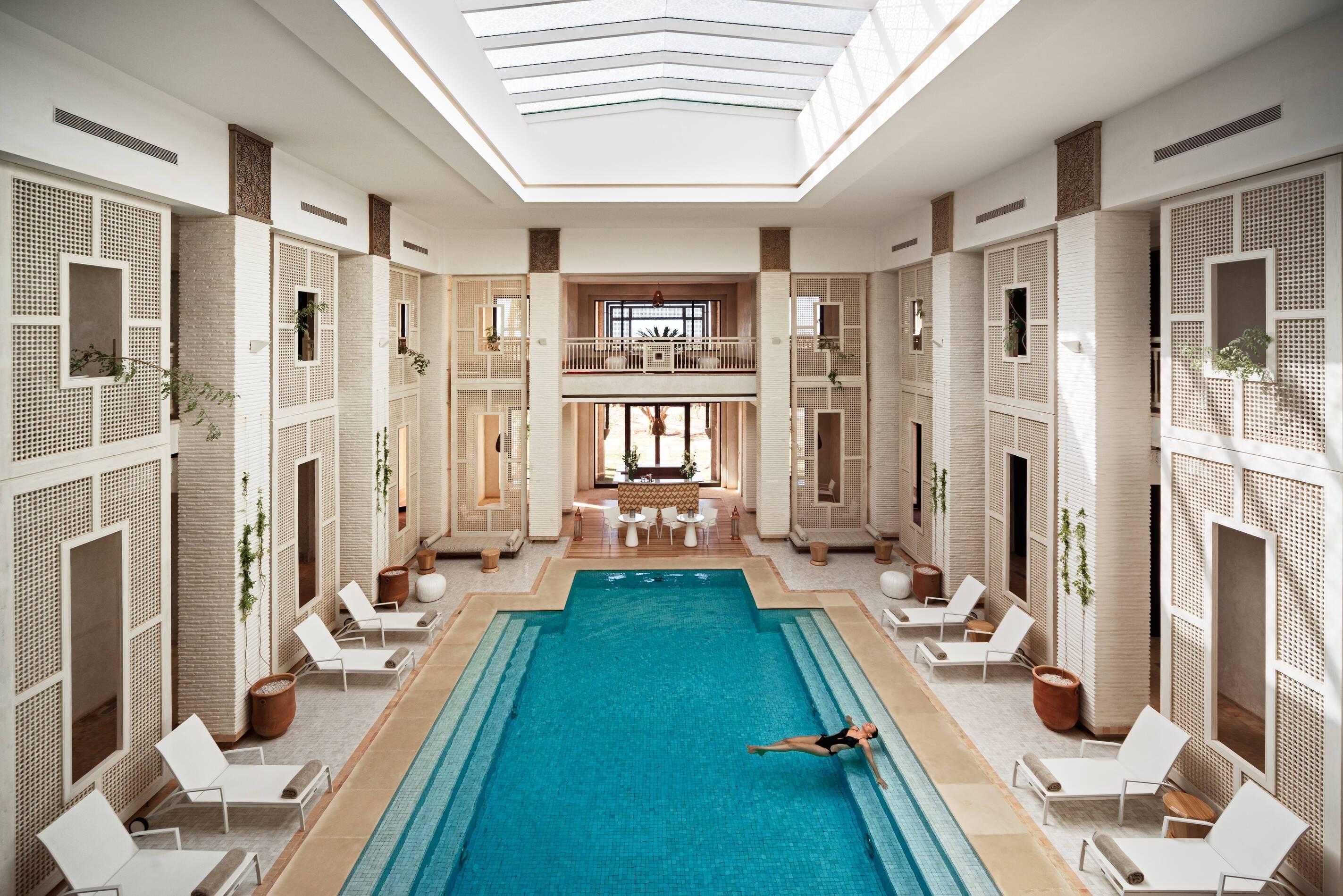 Fairmont Royal Palm Piscine Spa Marrakech