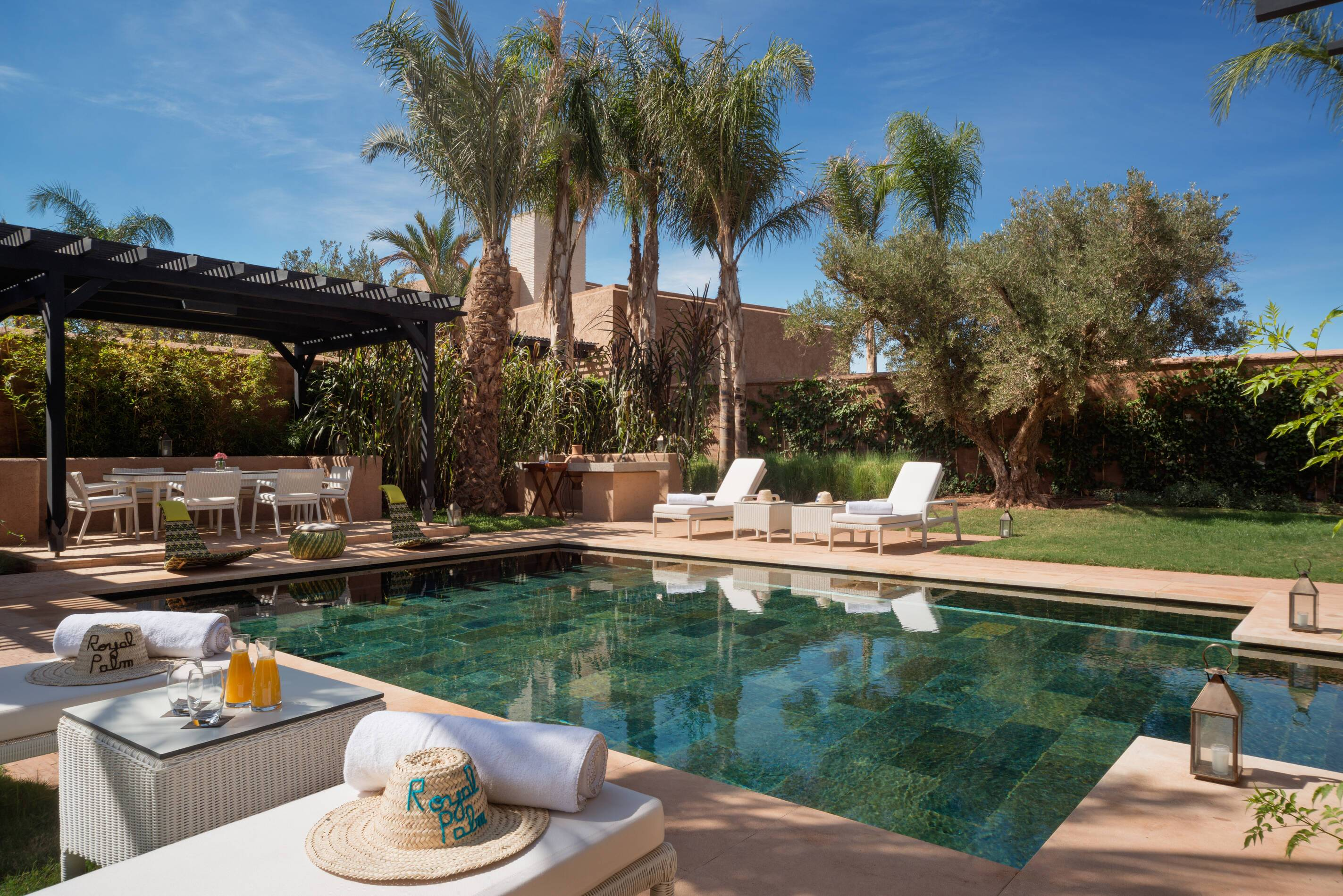 Fairmont Royal Palm Prince Villa Piscine Marrakech