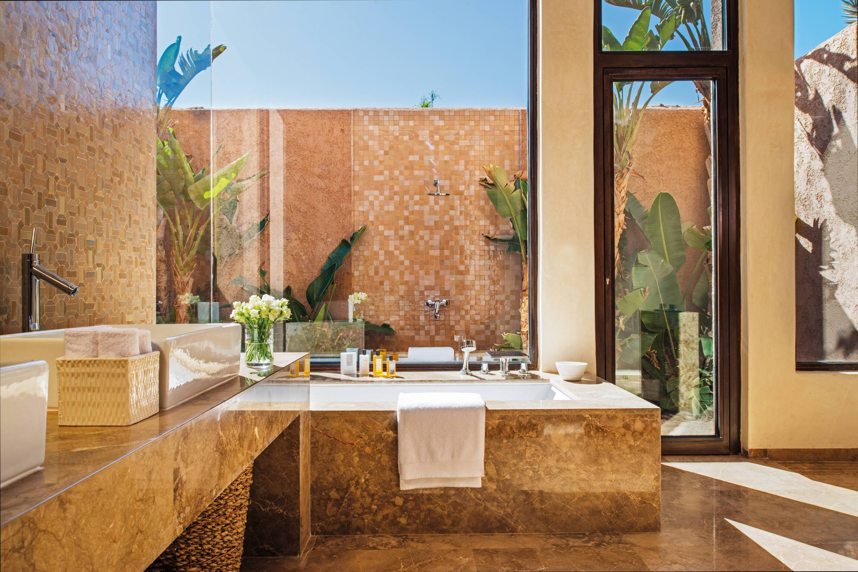 Fairmont Royal Palm Prince Villa SDB Marrakech