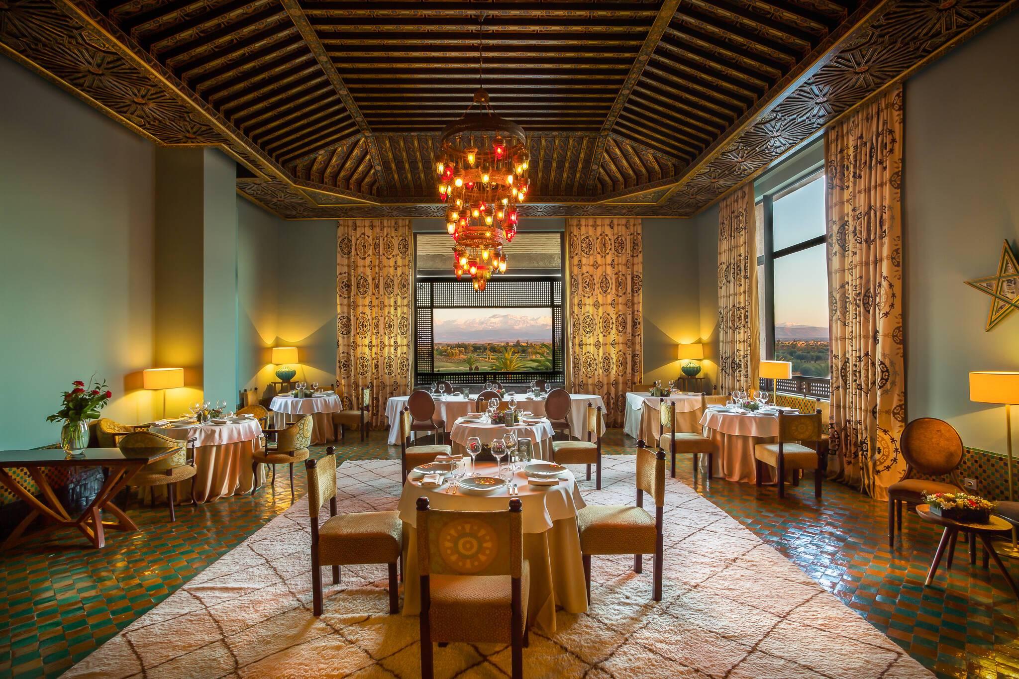 Fairmont Royal Palm Restaurant Al Ain Marrakech