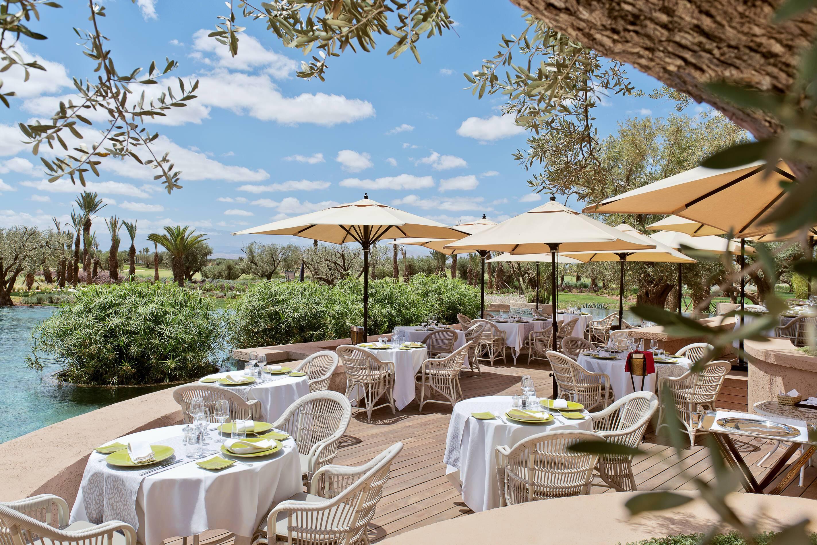 Fairmont Royal Palm Restaurant L Olivier Marrakech