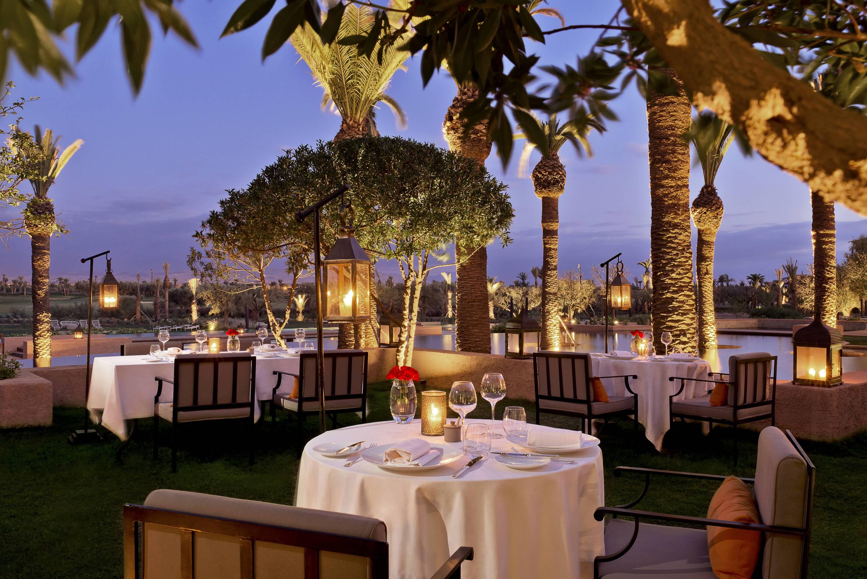 Fairmont Royal Palm Restaurant Le Caravane Marrakech