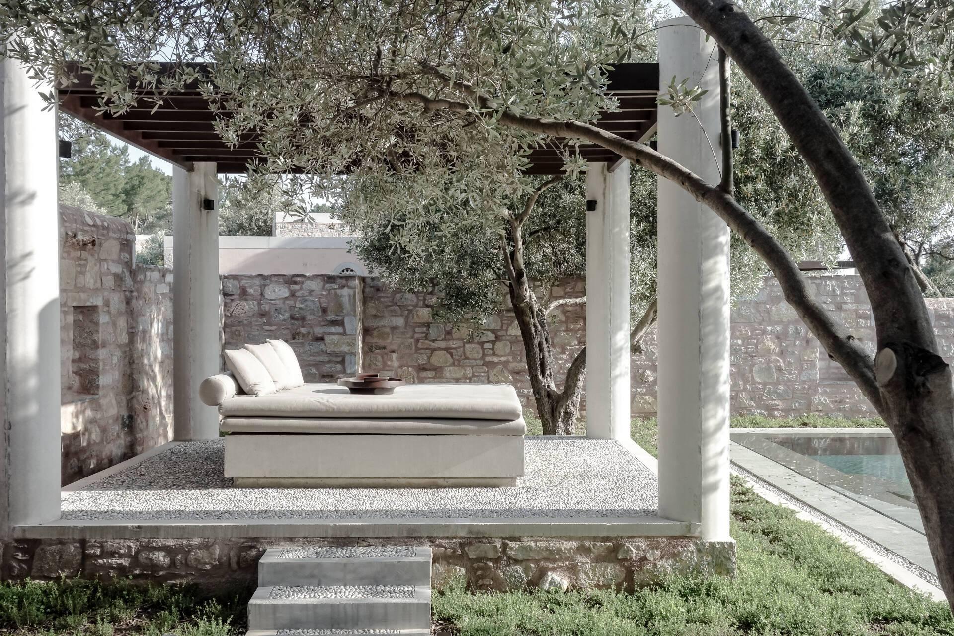 Amanruya Cottage Terrasse Bodrum