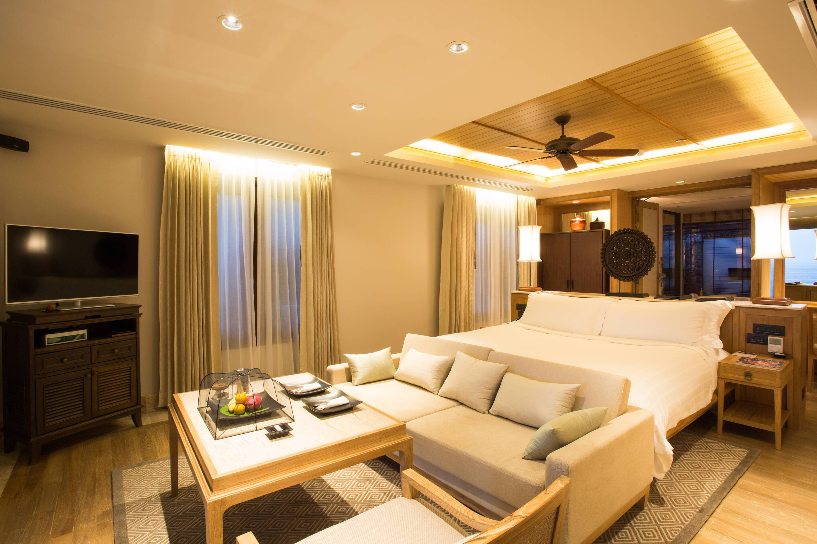 Trisara Thailande ocean view junior suite chambre