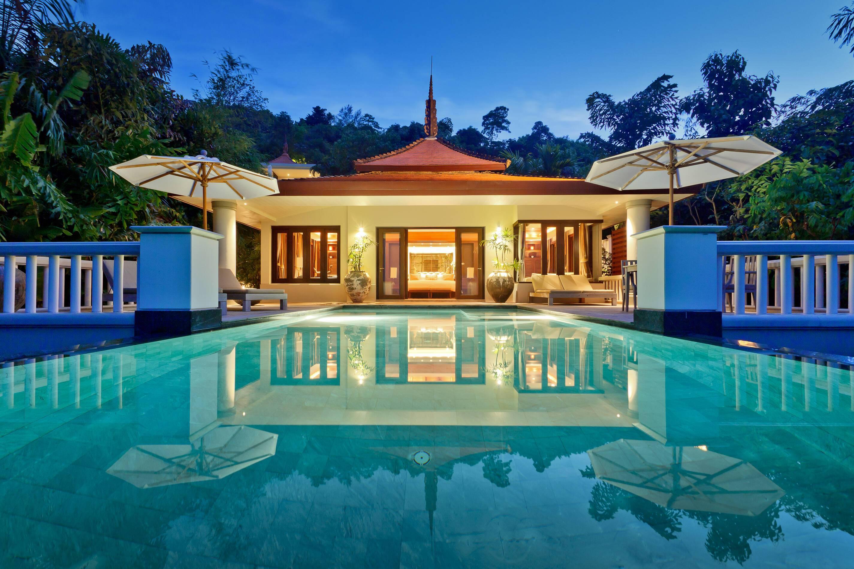 Trisara Thailande ocean view villa exterieur