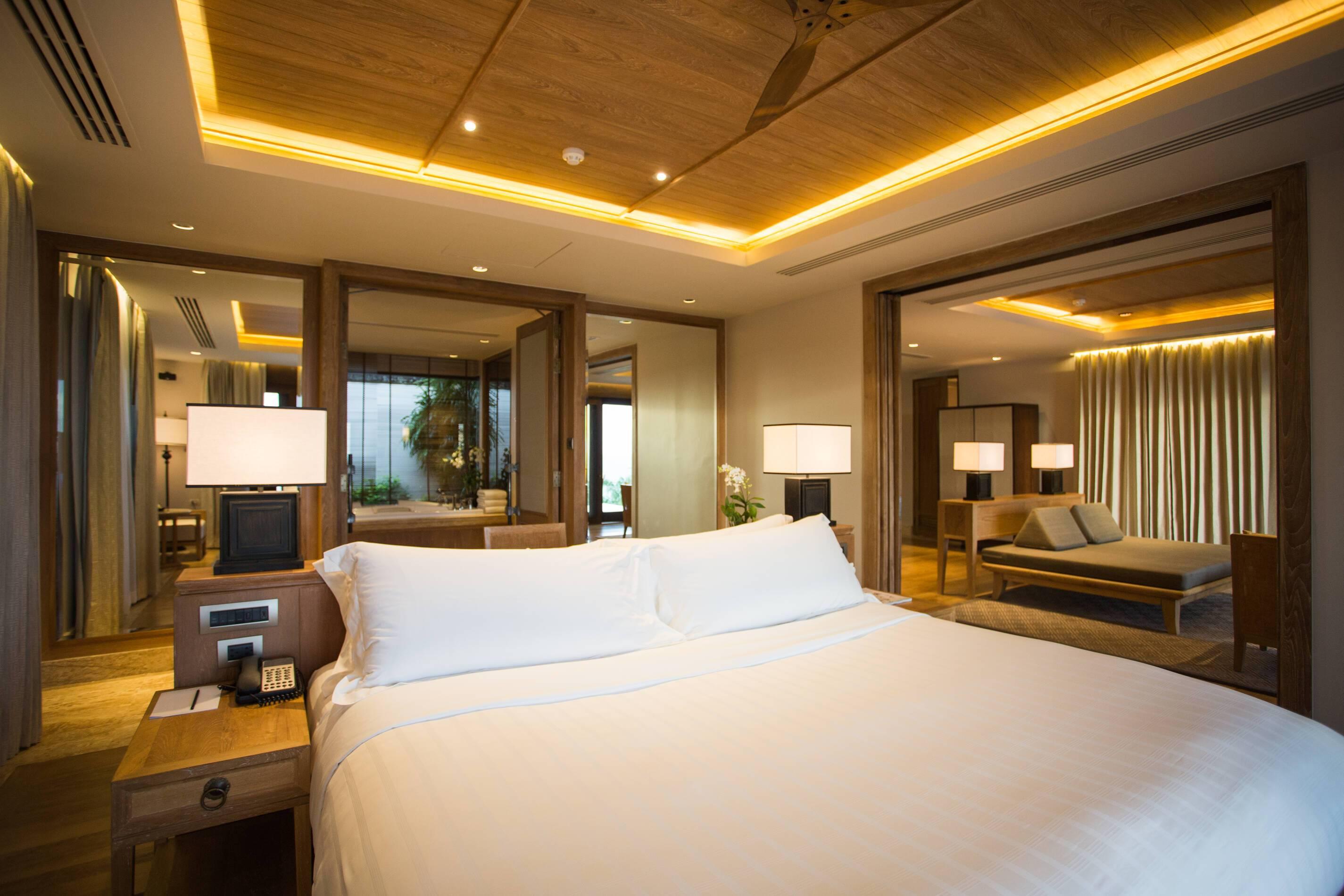 Trisara Thailande signature ocean view suite chambre