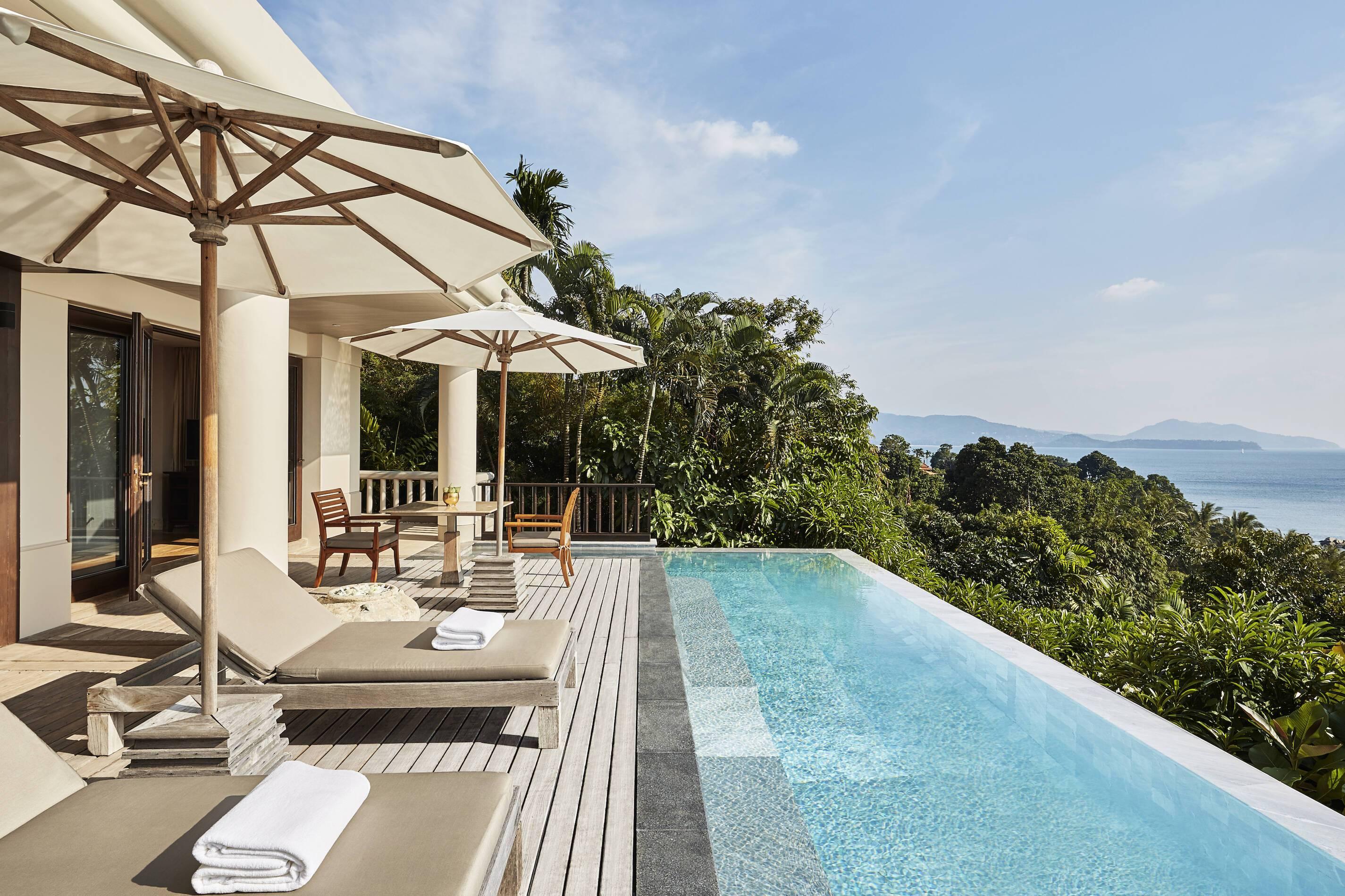 Trisara Thailande signature ocean view suite piscine