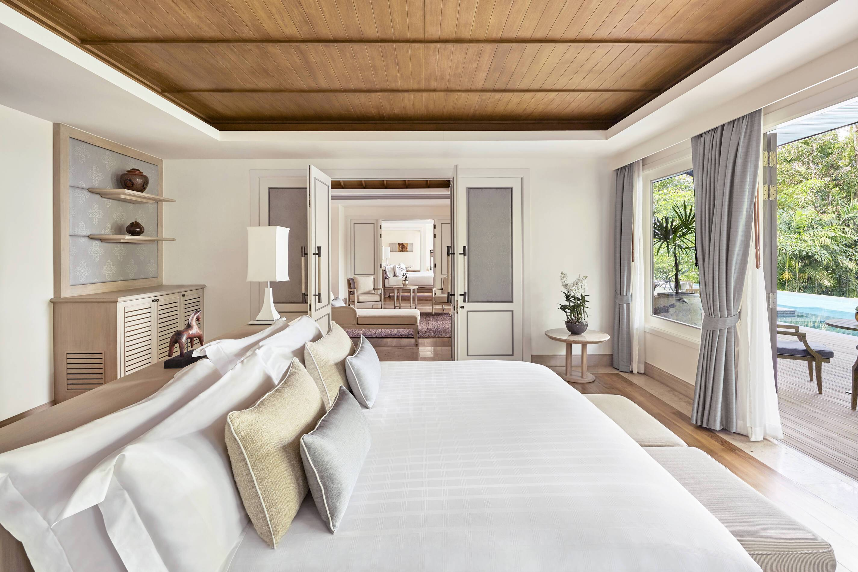 Trisara Thailande villa chambre