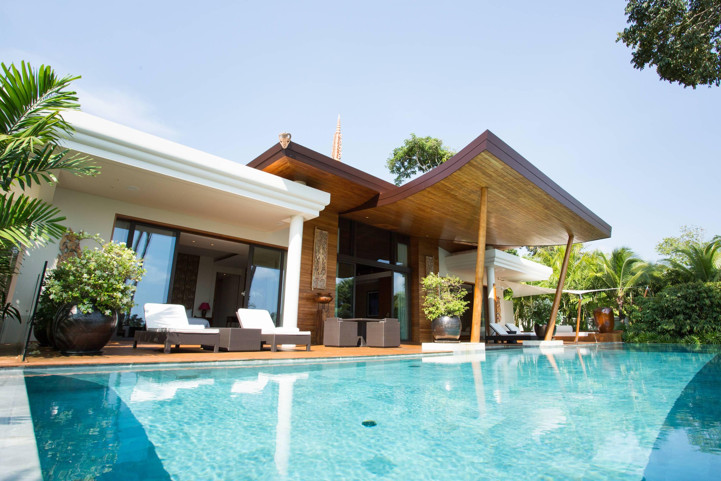 Trisara Thailande villa residentielle exterieur