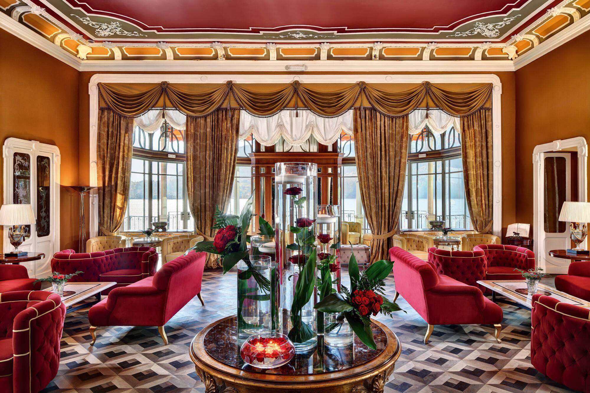 Grand Hotel Tremezzo Lac Come Hall Roberto Bonardi