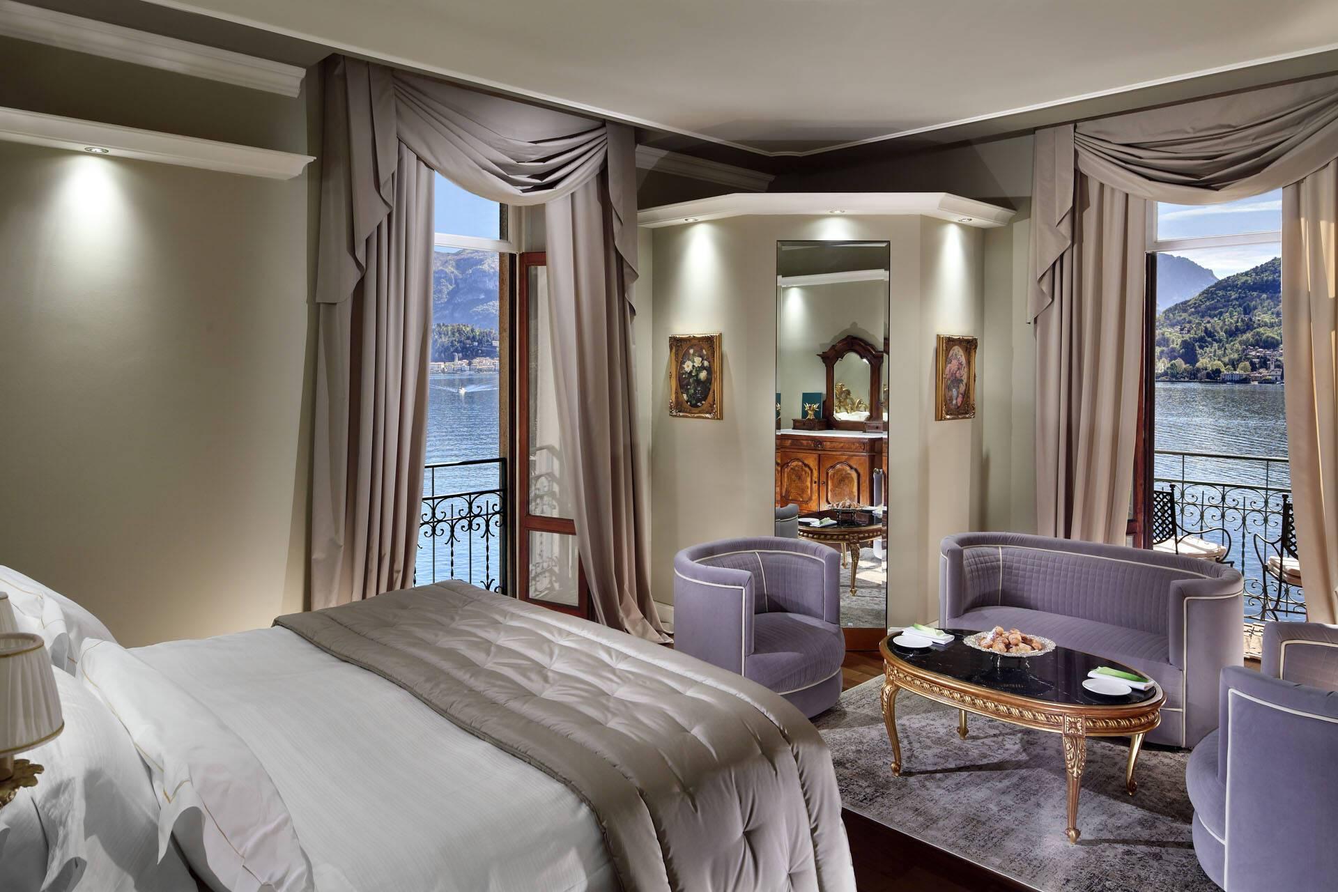 Grand Hotel Tremezzo Lac Come Italie Deluxe Room