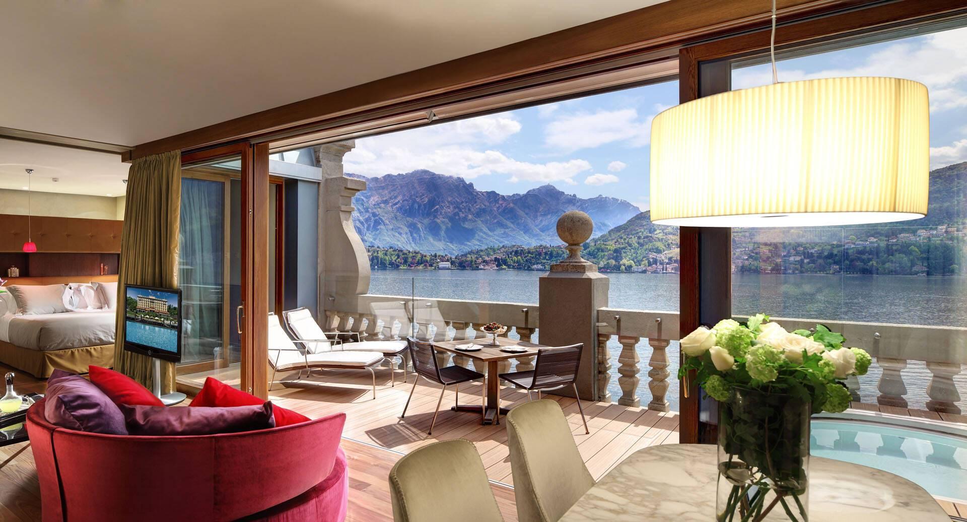 Grand Hotel Tremezzo Lac Come Italie Front Suite