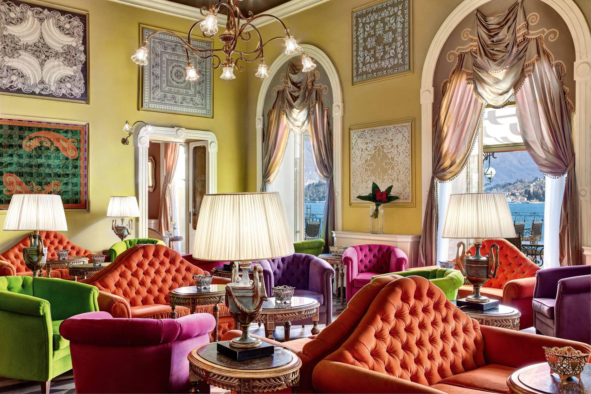Grand Hotel Tremezzo Lac Come Italie Sala Musica