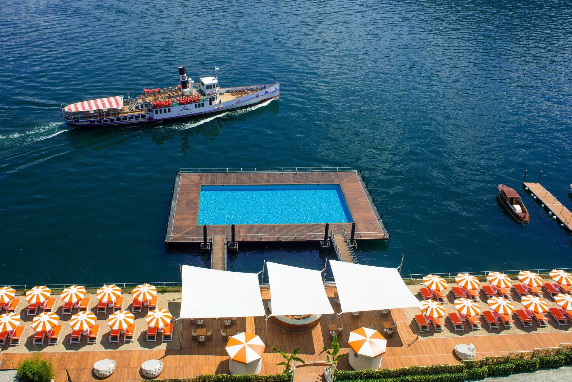 Grand Hotel Tremezzo Lac Come Italie T Beach