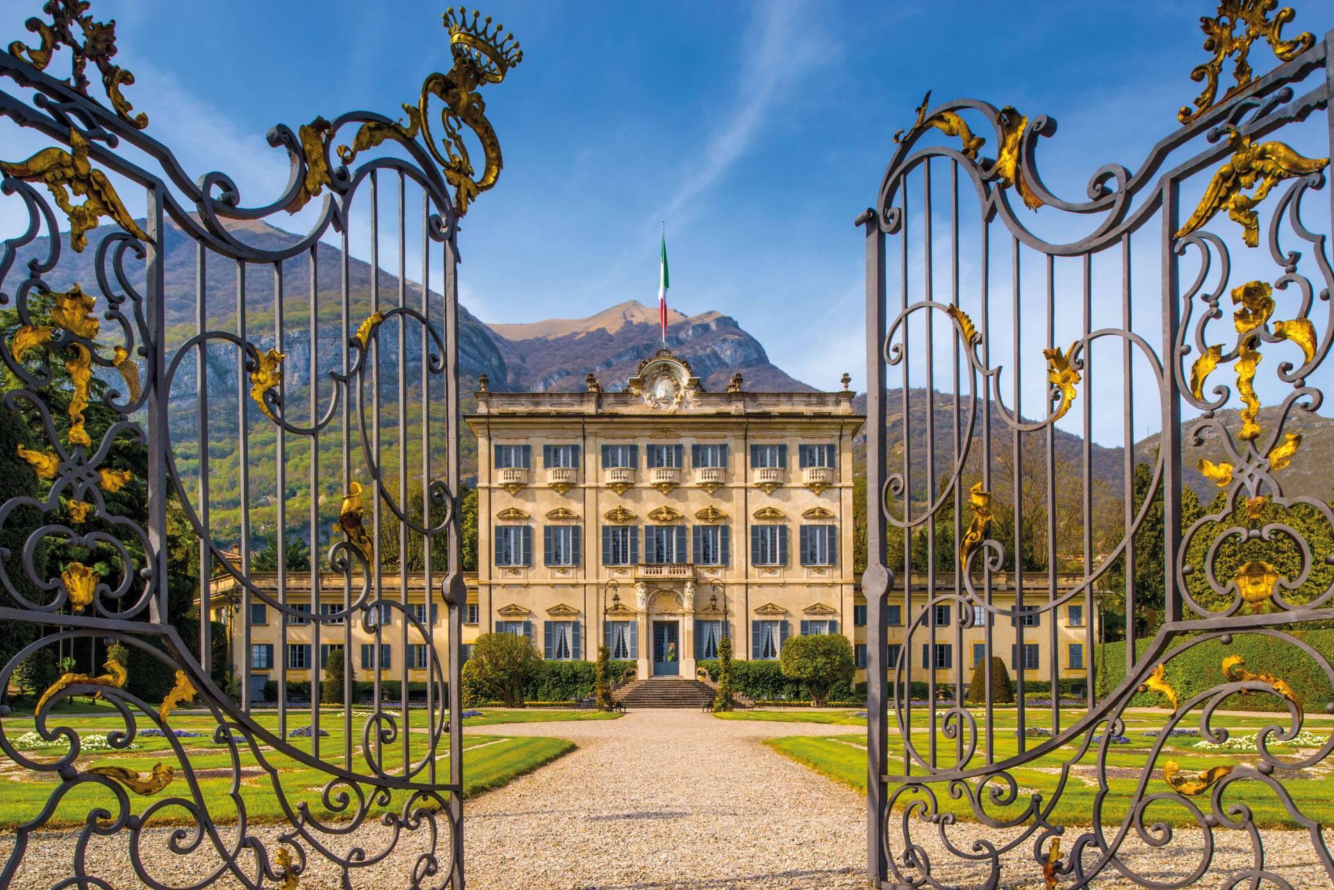 Grand Hotel Tremezzo Lac Come Italie Villa Sola Cabiati