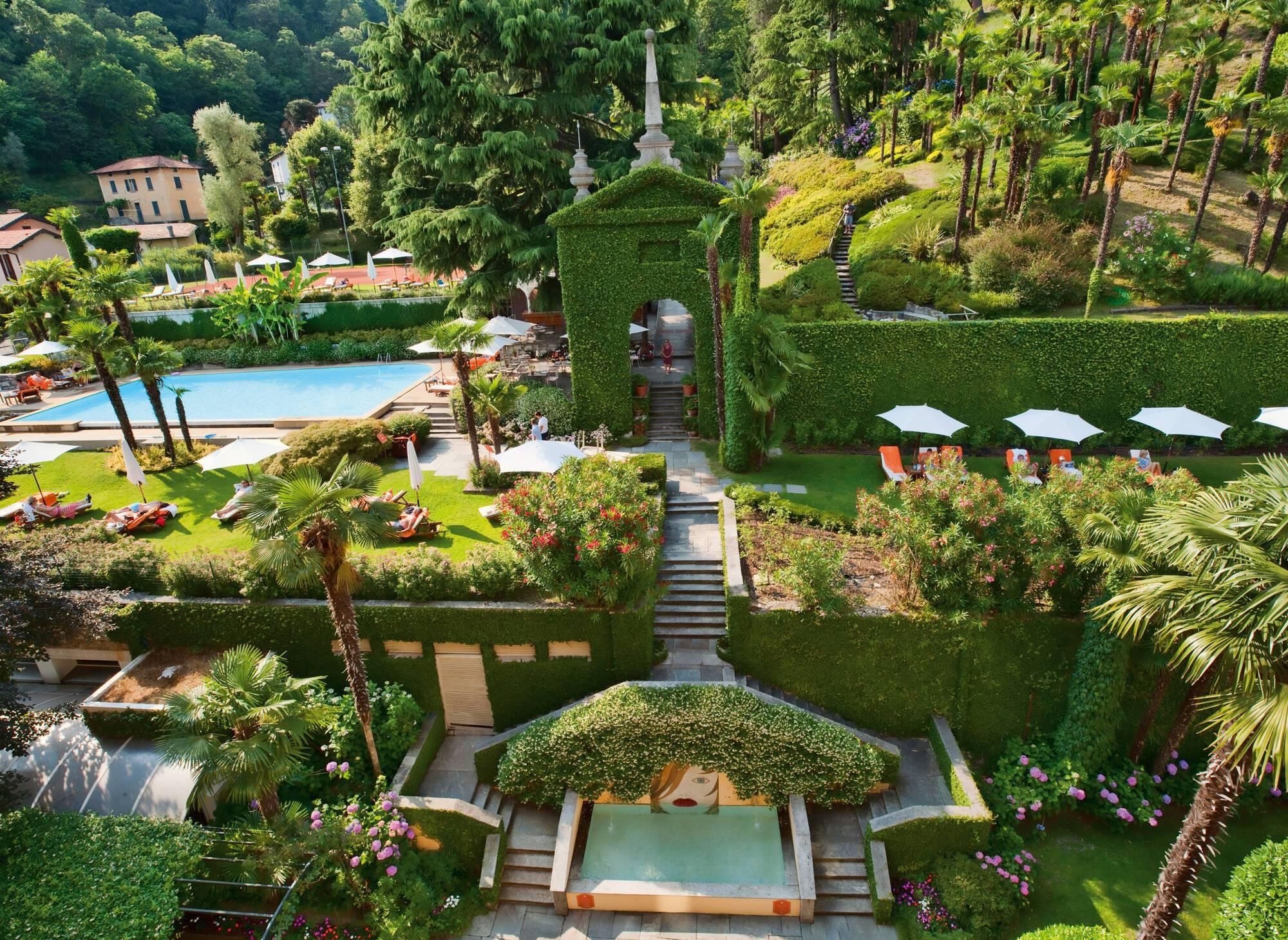 Grand Hotel Tremezzo Lac Come Parc Tommy Picone